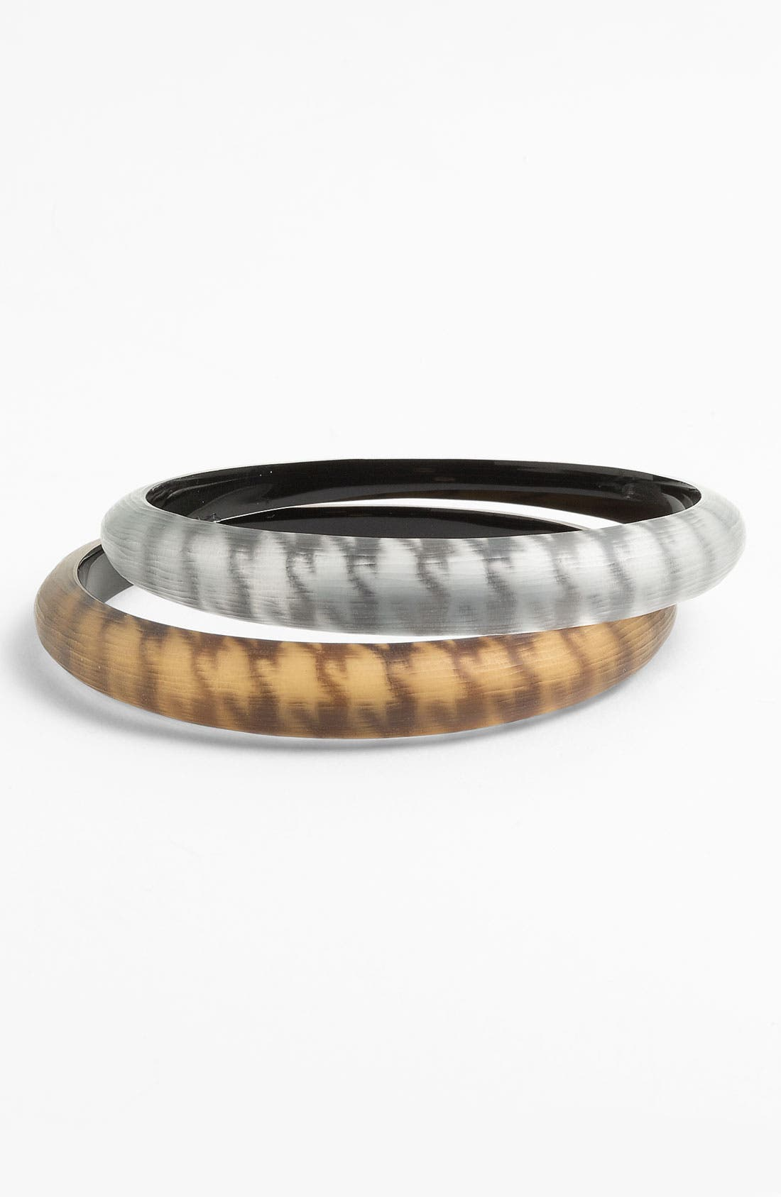 Main Image - Alexis Bittar 'Houndstooth' Skinny Tapered Bangle (Nordstrom Exclusive)