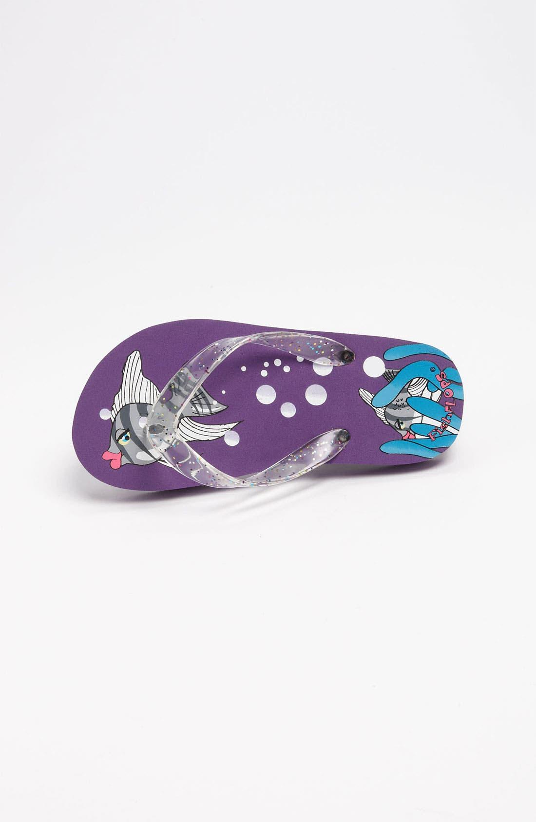 Alternate Image 3  - Fish Flops 'Angel Fish Lights' Flip Flops (Toddler & Little Kid)