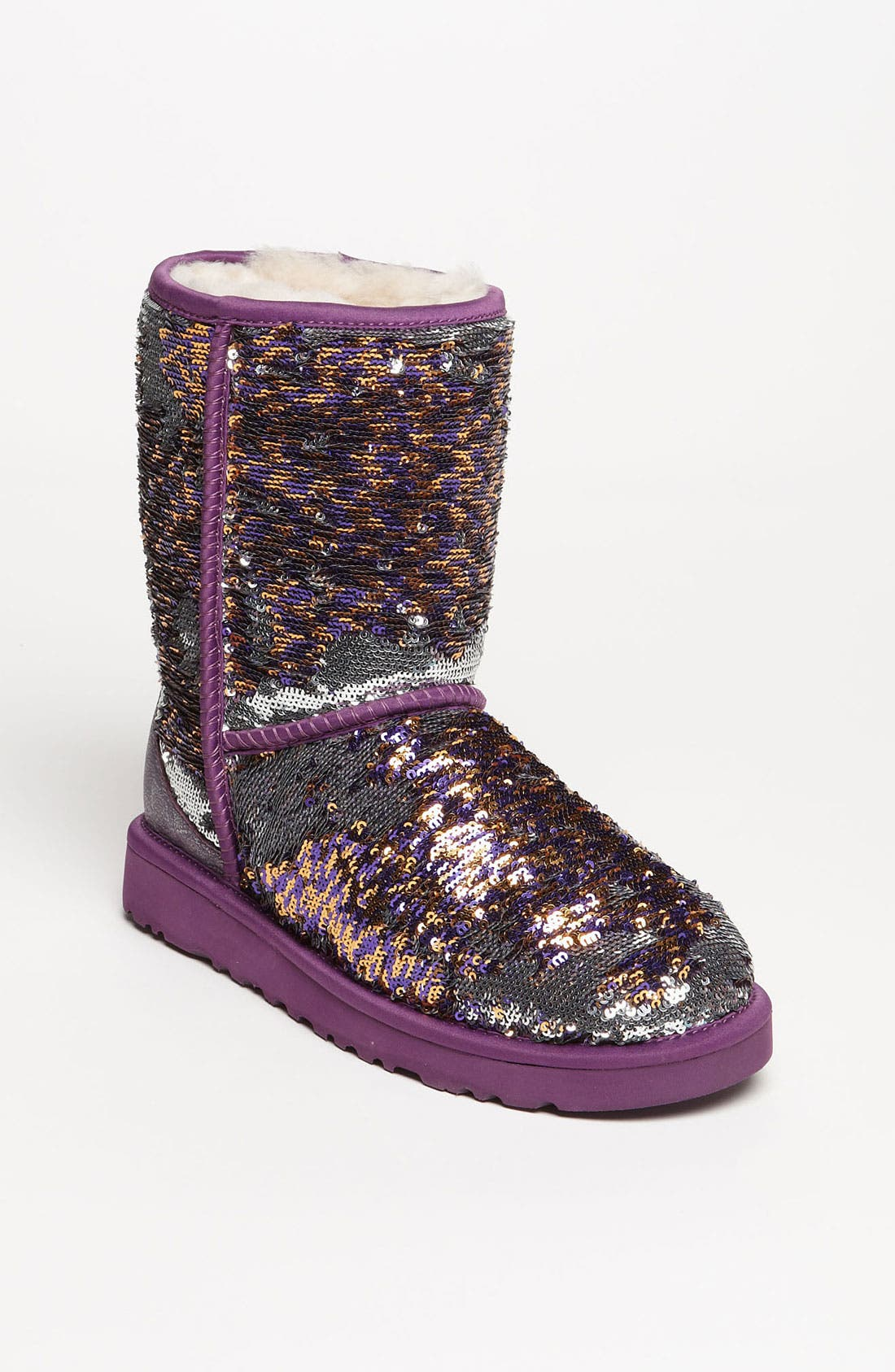 Alternate Image 1 Selected - UGG® Australia 'Classic Short Sparkle' Boot (Women) (Exclusive Color)