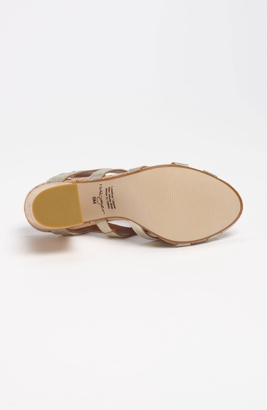 Alternate Image 4  - Halogen® 'Gracey' Sandal