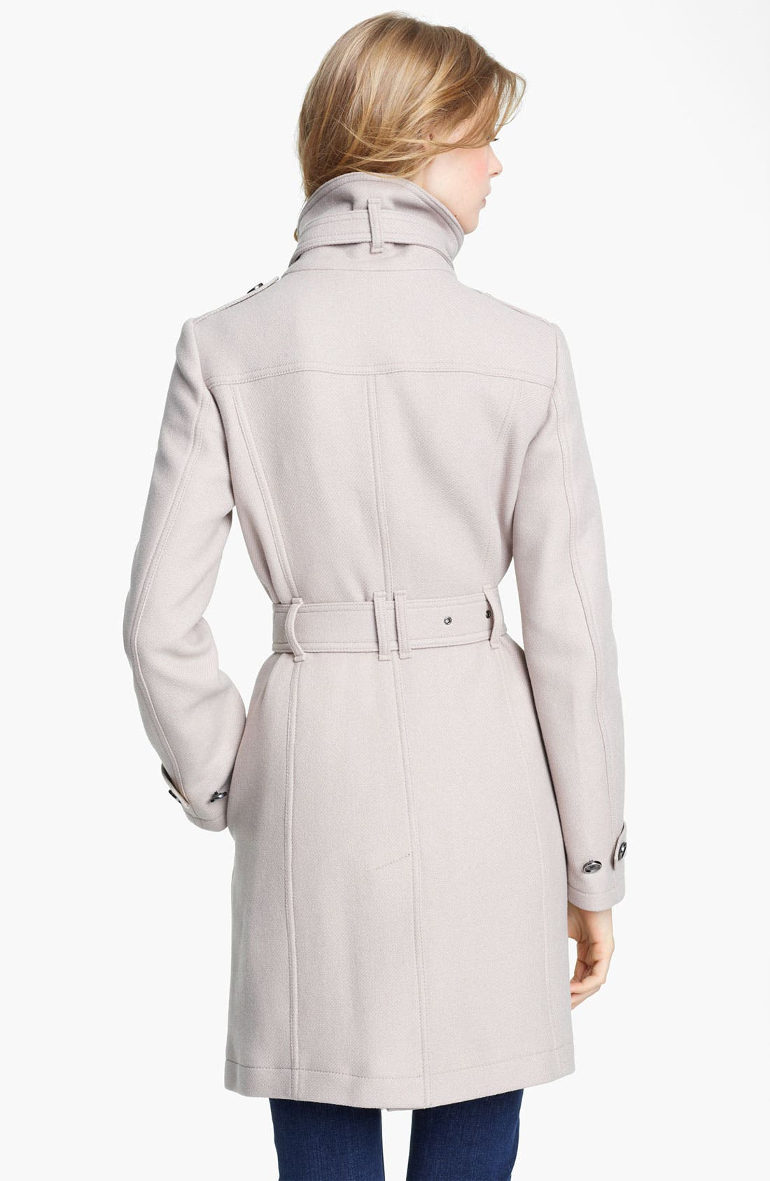 Alternate Image 2  - Burberry Brit 'Rushworth' Belted Wool Blend Coat