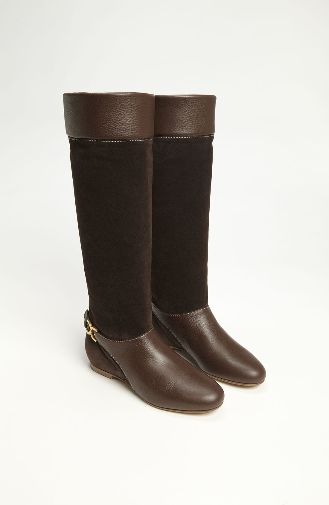 Alternate Image 4  - Chloé Tall Buckle Boot