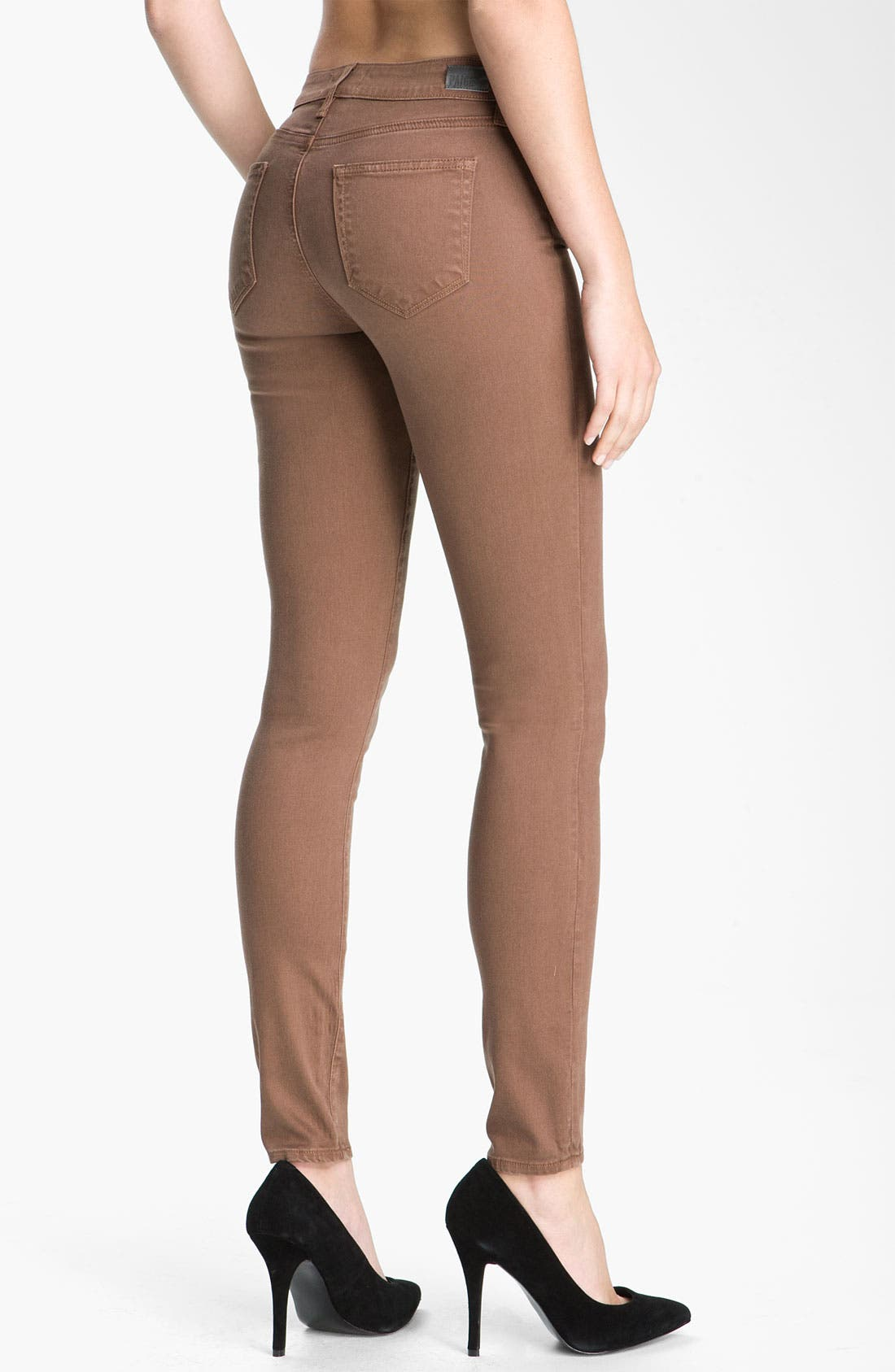 Alternate Image 2  - Paige Denim 'Verdugo' Skinny Stretch Jeans (Rothko)