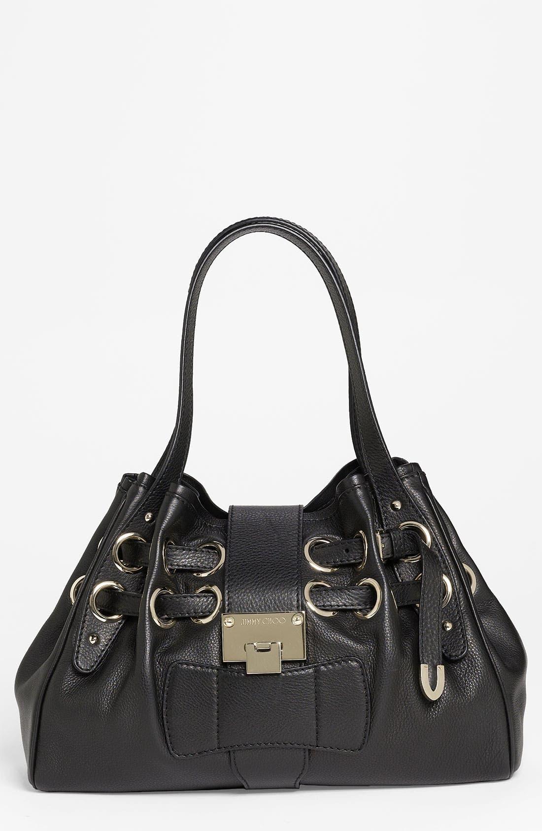 Main Image - Jimmy Choo 'Riki' Leather Shopper