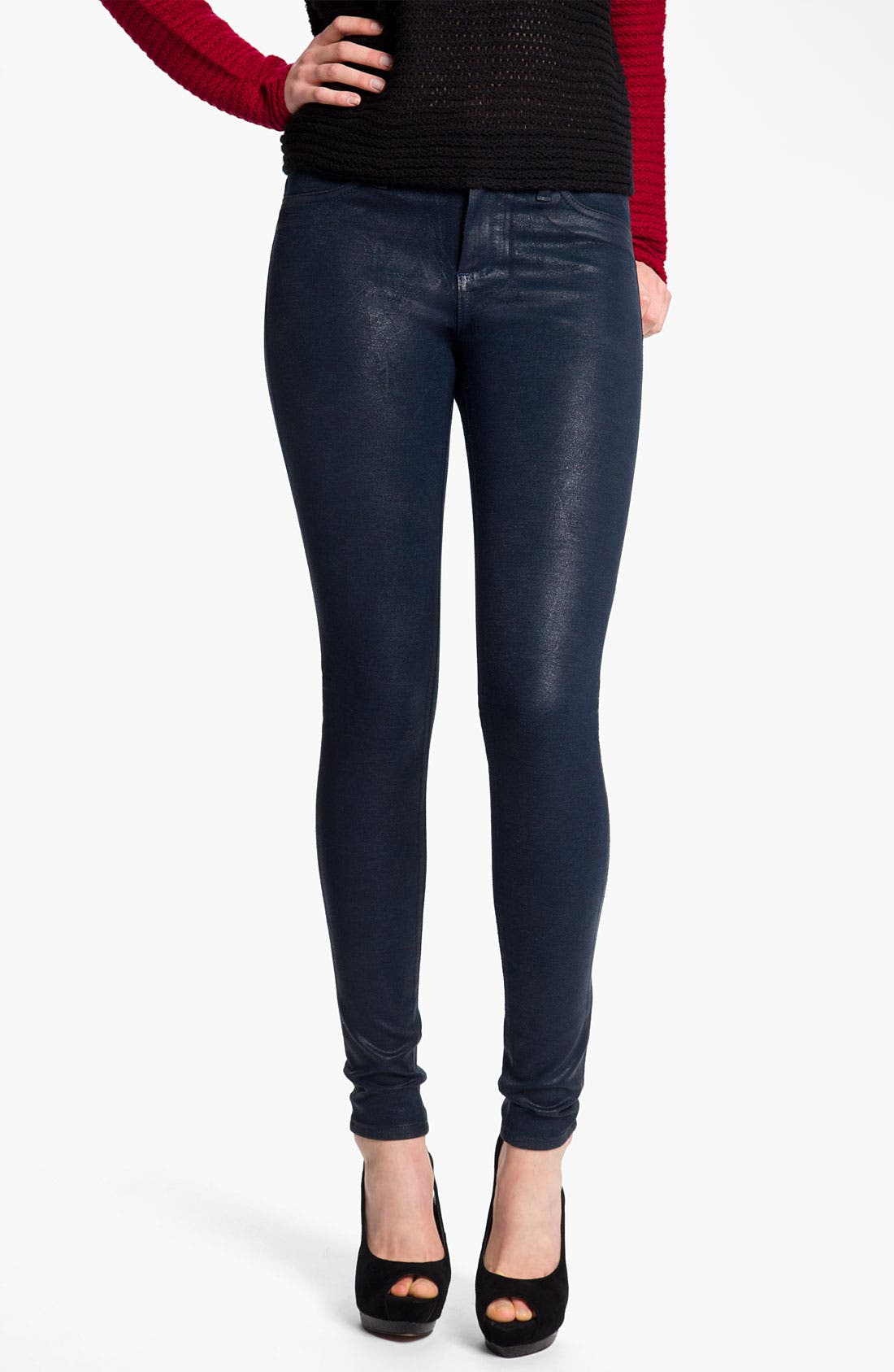 Alternate Image 1 Selected - KUT from the Kloth Coated Skinny Jeans