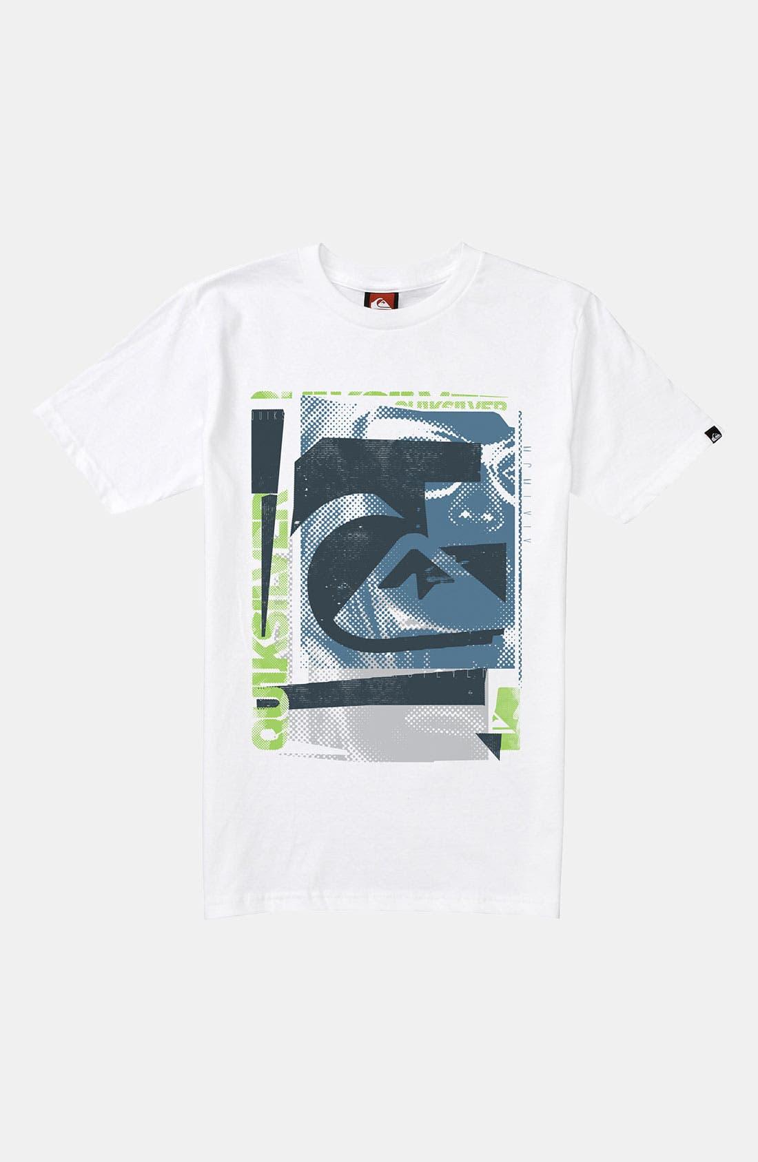 Alternate Image 1 Selected - Quiksilver 'Expiration Date' T-Shirt (Big Boys)