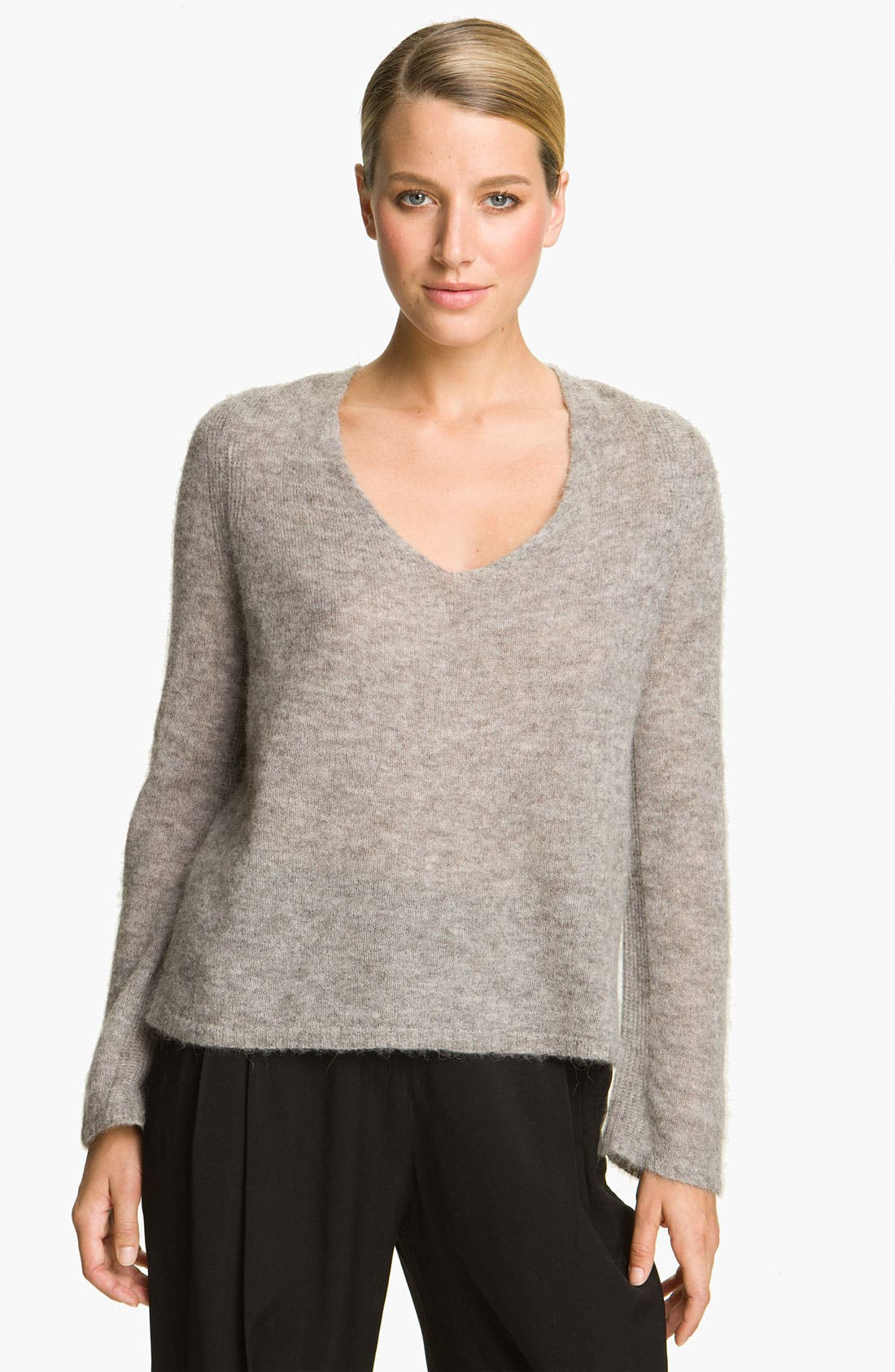 Alternate Image 1 Selected - Halston Heritage Textured Knit Sweater