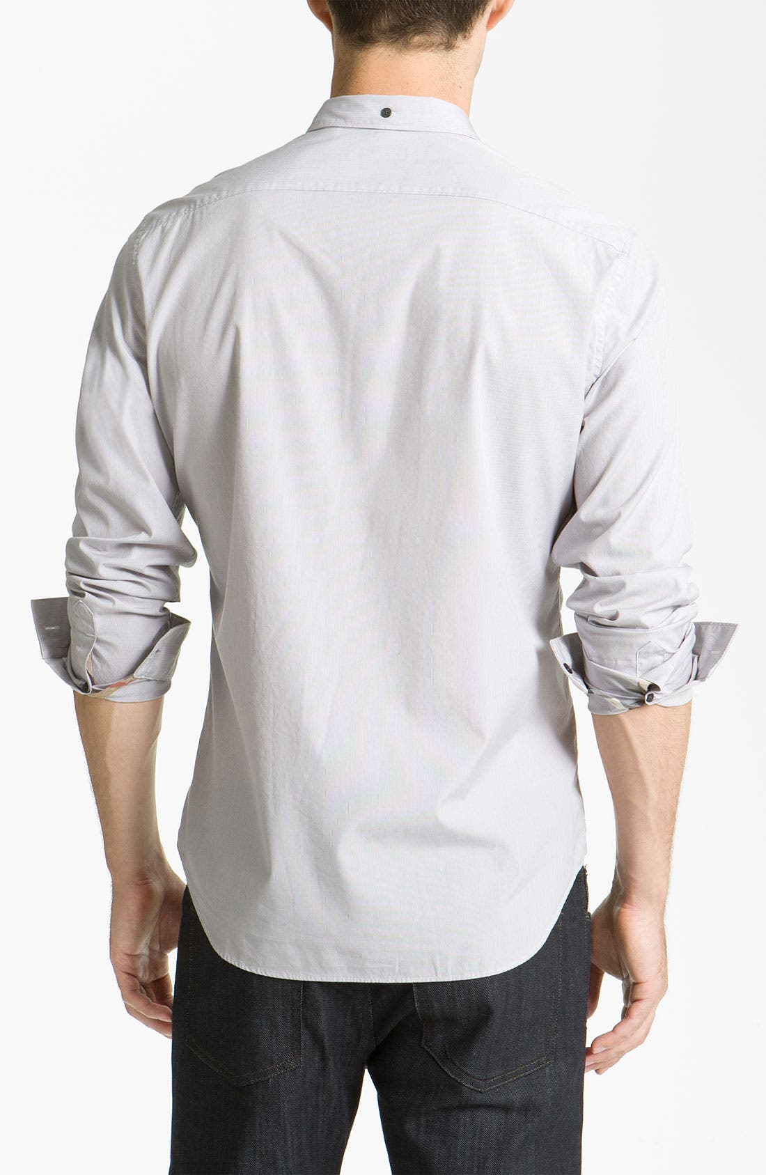 Alternate Image 2  - Burberry Brit Woven Sport Shirt