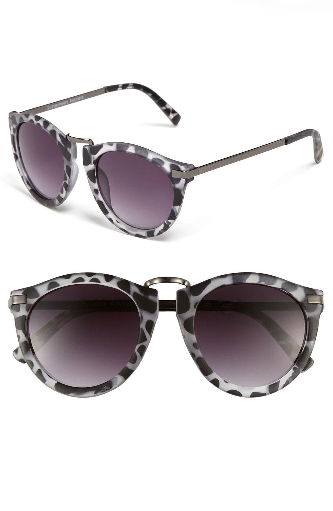 Alternate Image 1 Selected - Quay Retro Sunglasses