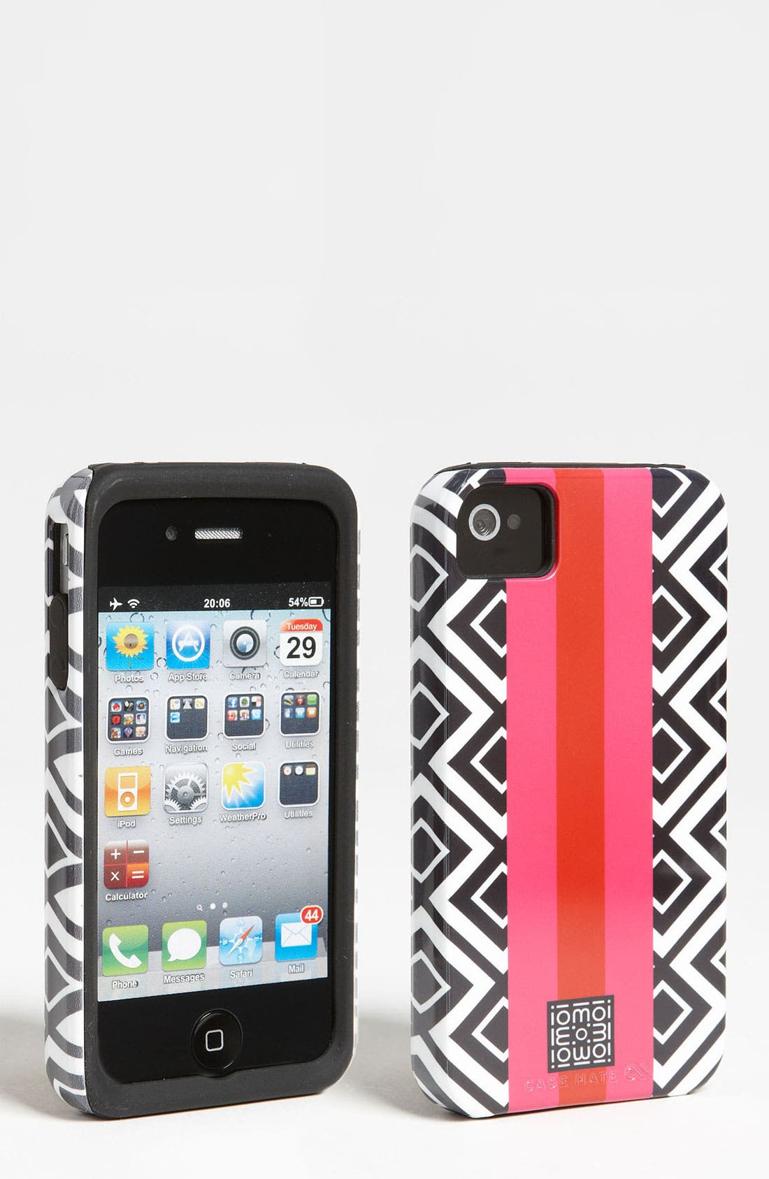 Alternate Image 1 Selected - iomoi for Case-Mate® 'Tough' iPhone 4& 4S Case