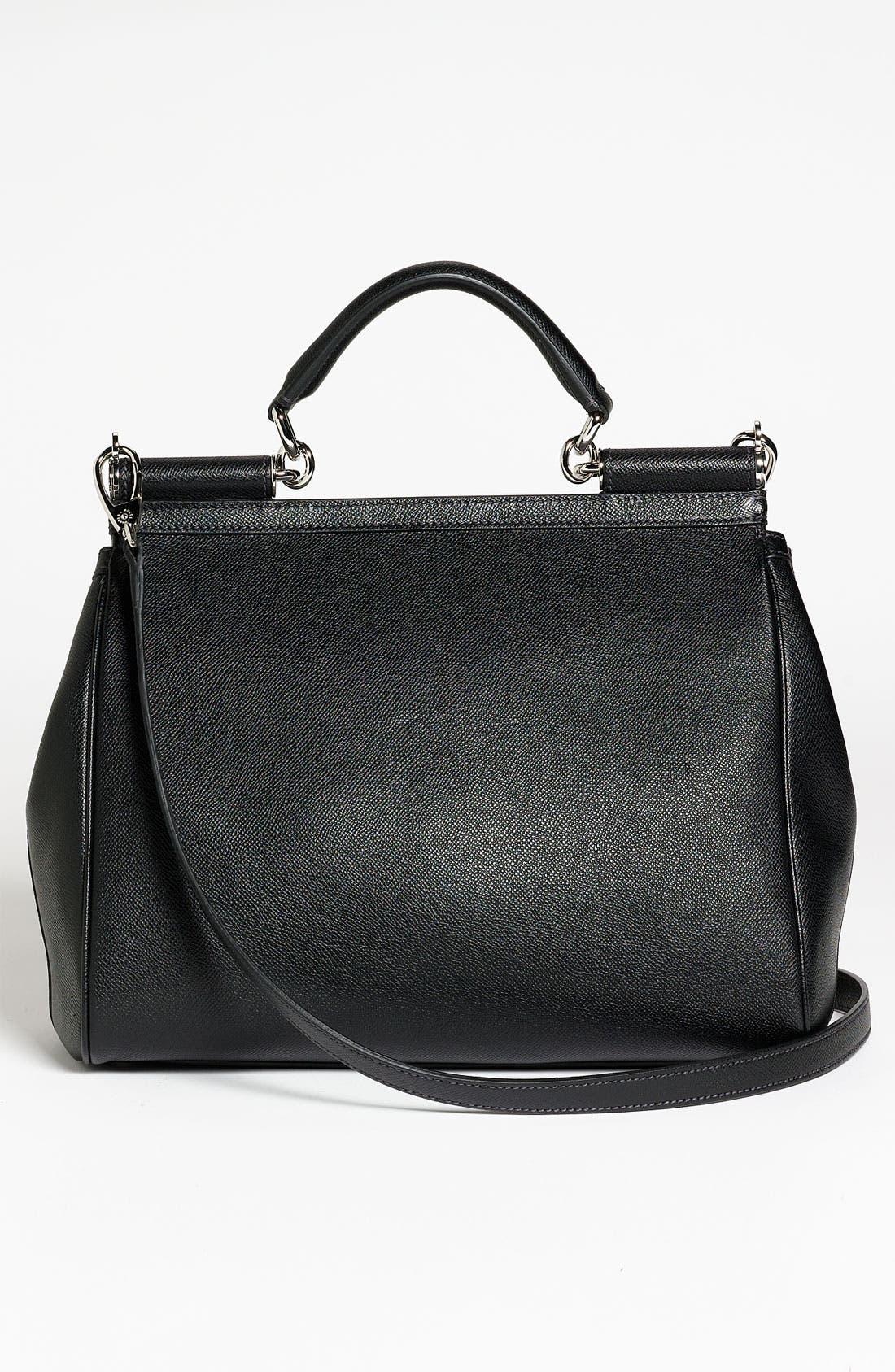 Alternate Image 4  - Dolce&Gabbana 'Miss Mamma' Leather Satchel