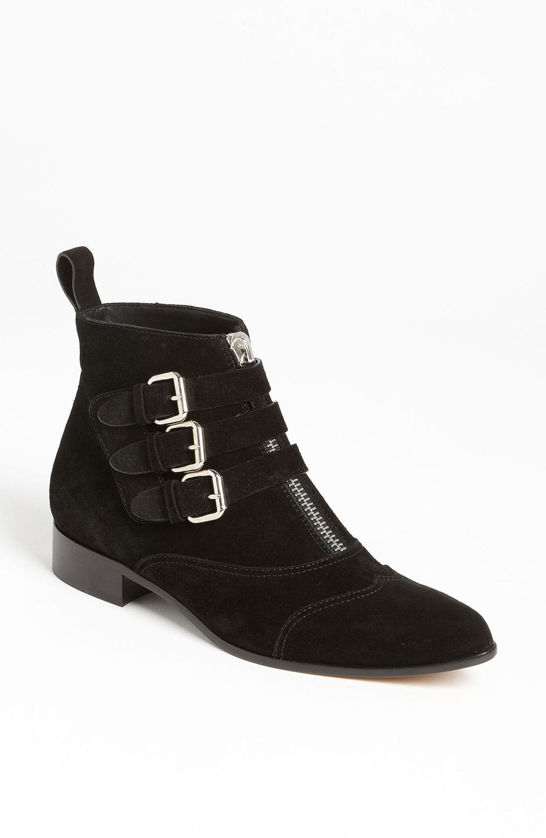 Alternate Image 1 Selected - Tabitha Simmons Zip Buckle Bootie