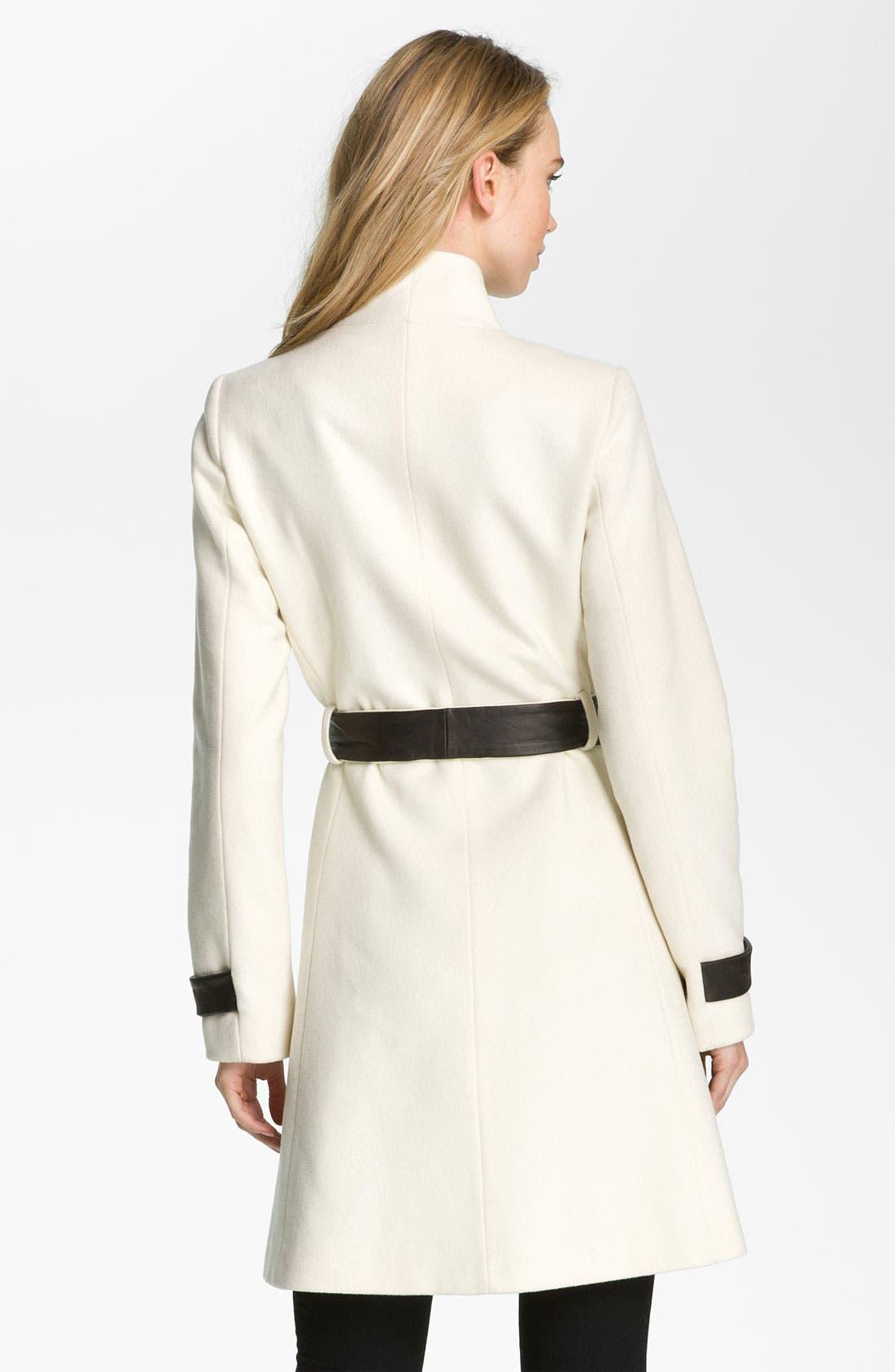 Alternate Image 2  - Badgley Mischka 'Sasha' Coat