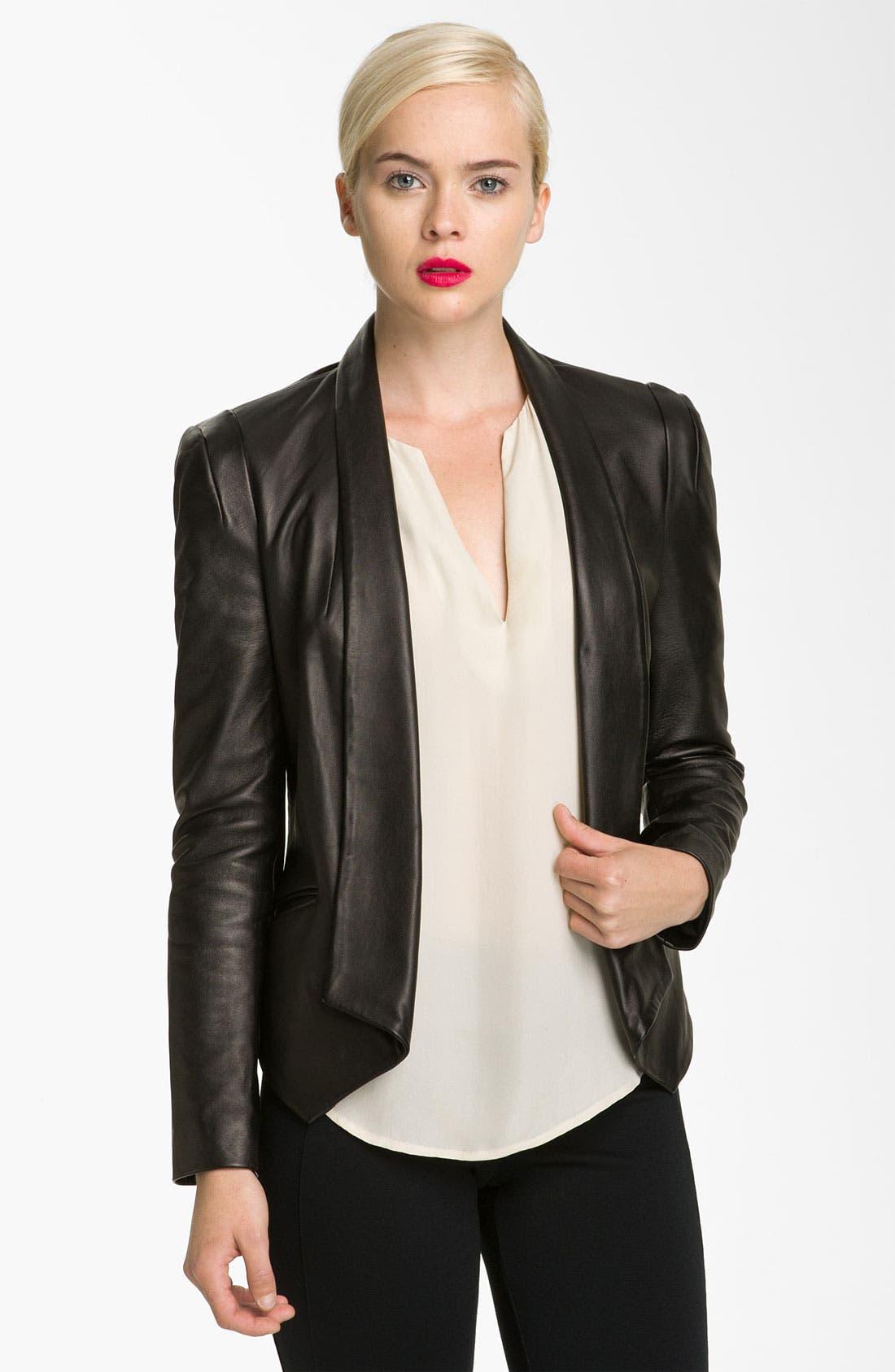 Main Image - Rebecca Minkoff 'Becky' Leather Jacket