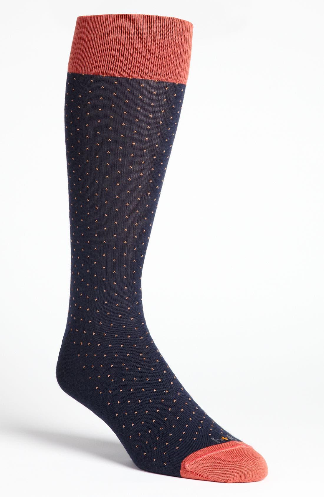 Alternate Image 3  - hook + ALBERT Contrast Trim Socks