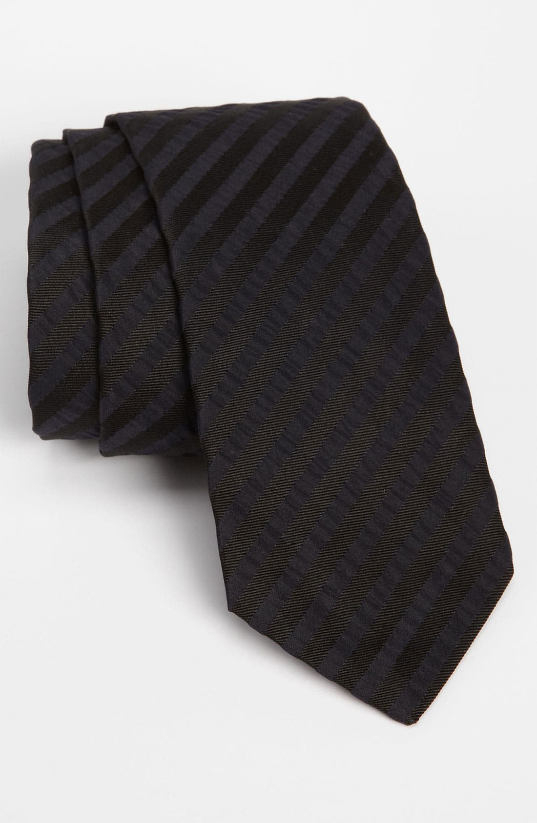 Alternate Image 1 Selected - BOSS Black Woven Tie