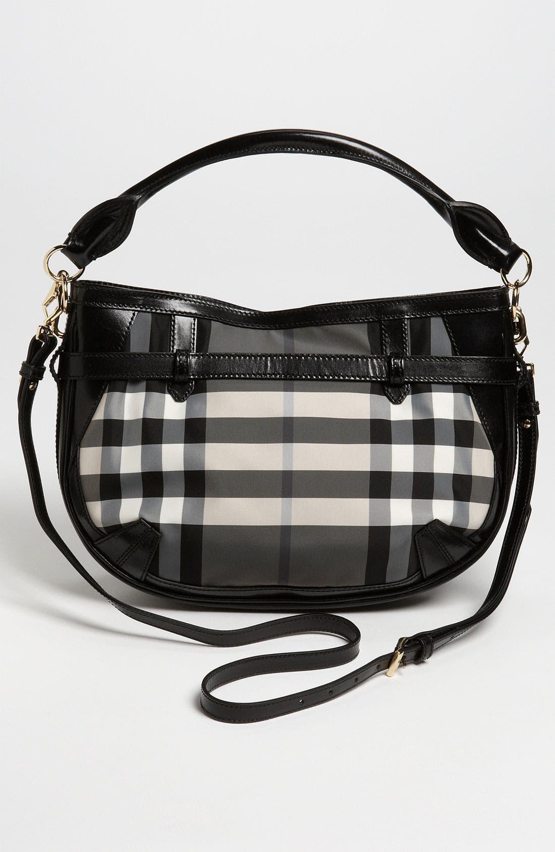Alternate Image 4  - Burberry Prorsum 'Charcoal Check' Crossbody Bag