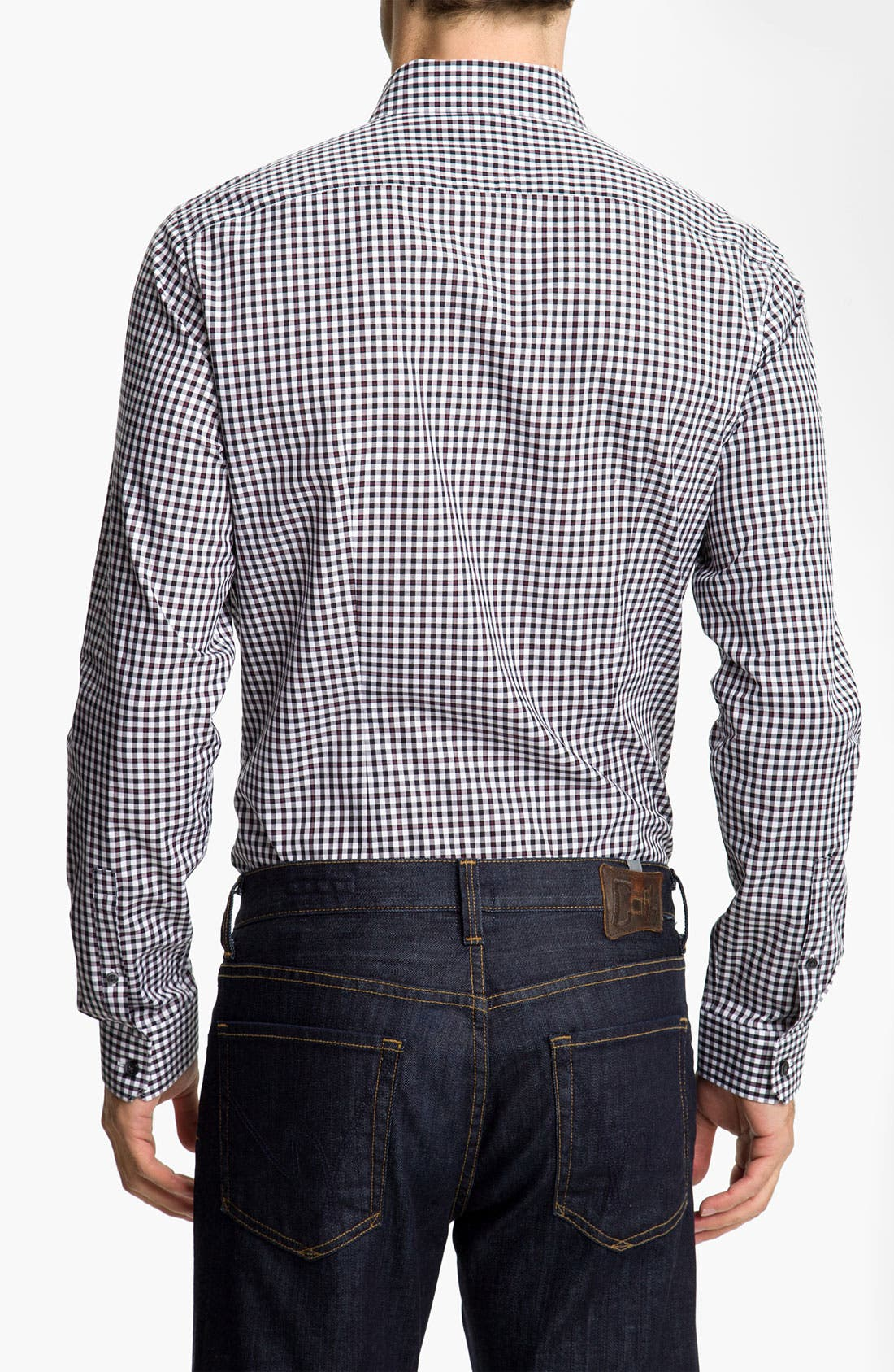 Alternate Image 2  - Michael Kors 'Fairfax Check' Sport Shirt