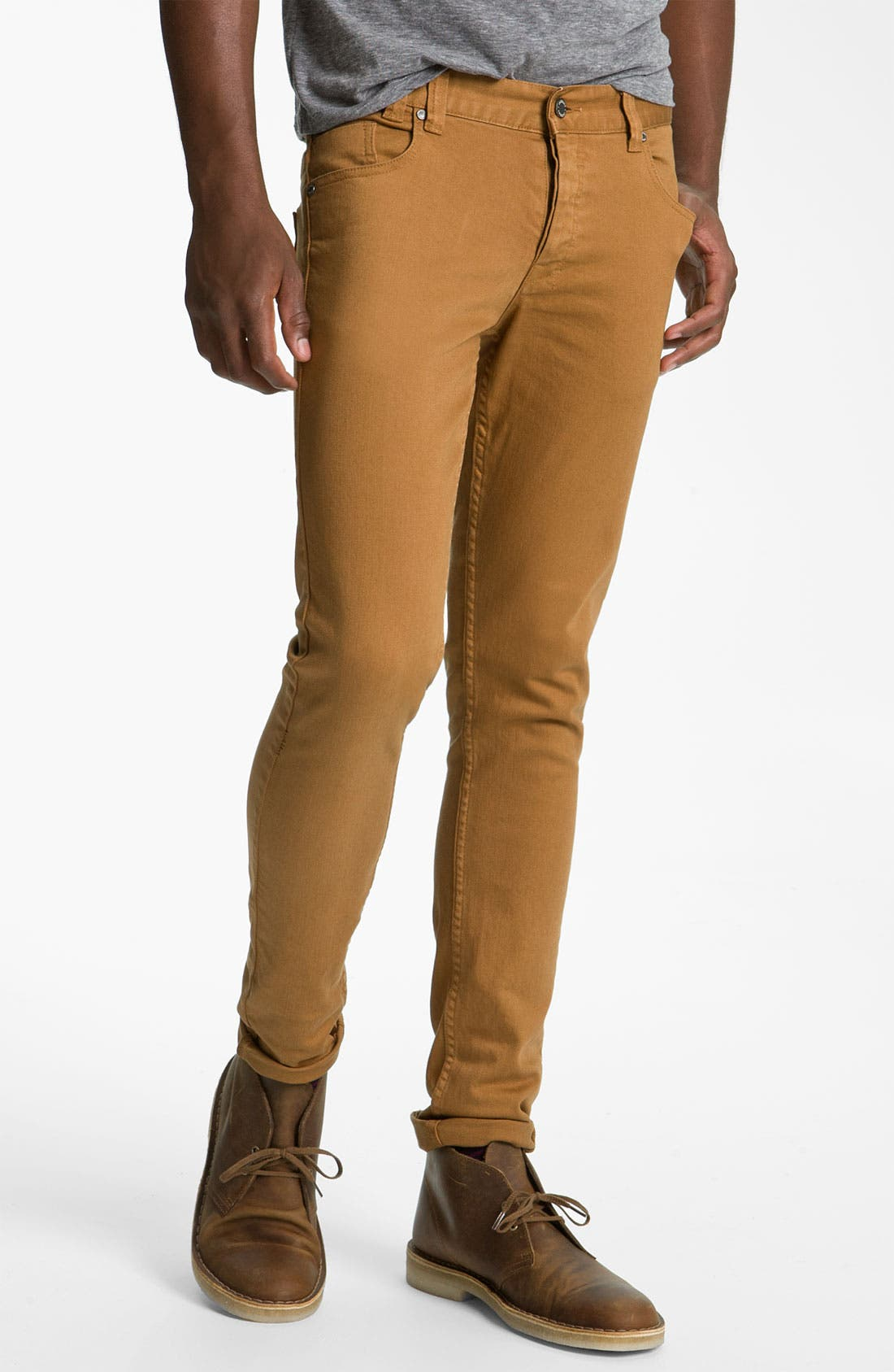 Alternate Image 2  - Insight 'City Riot' Slim Straight Leg Jeans (Digger)