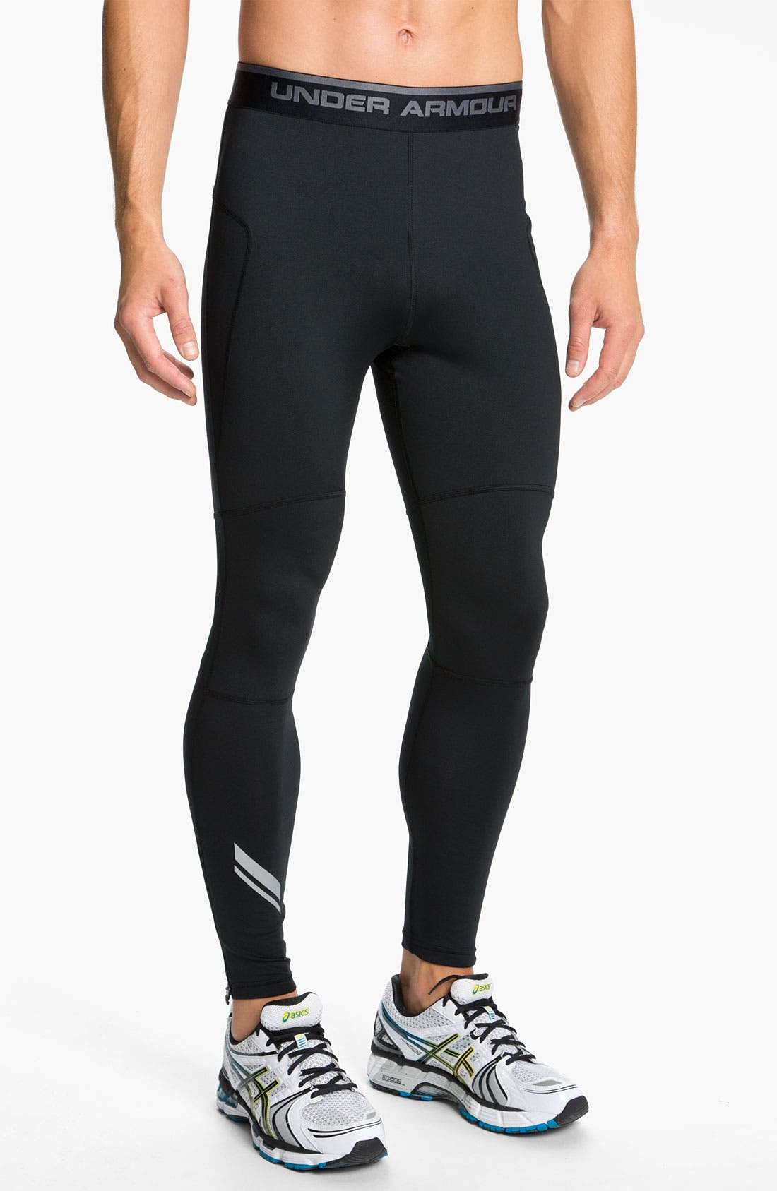 Alternate Image 1 Selected - Under Armour 'Run' ColdGear® Running Leggings (Online Exclusive)