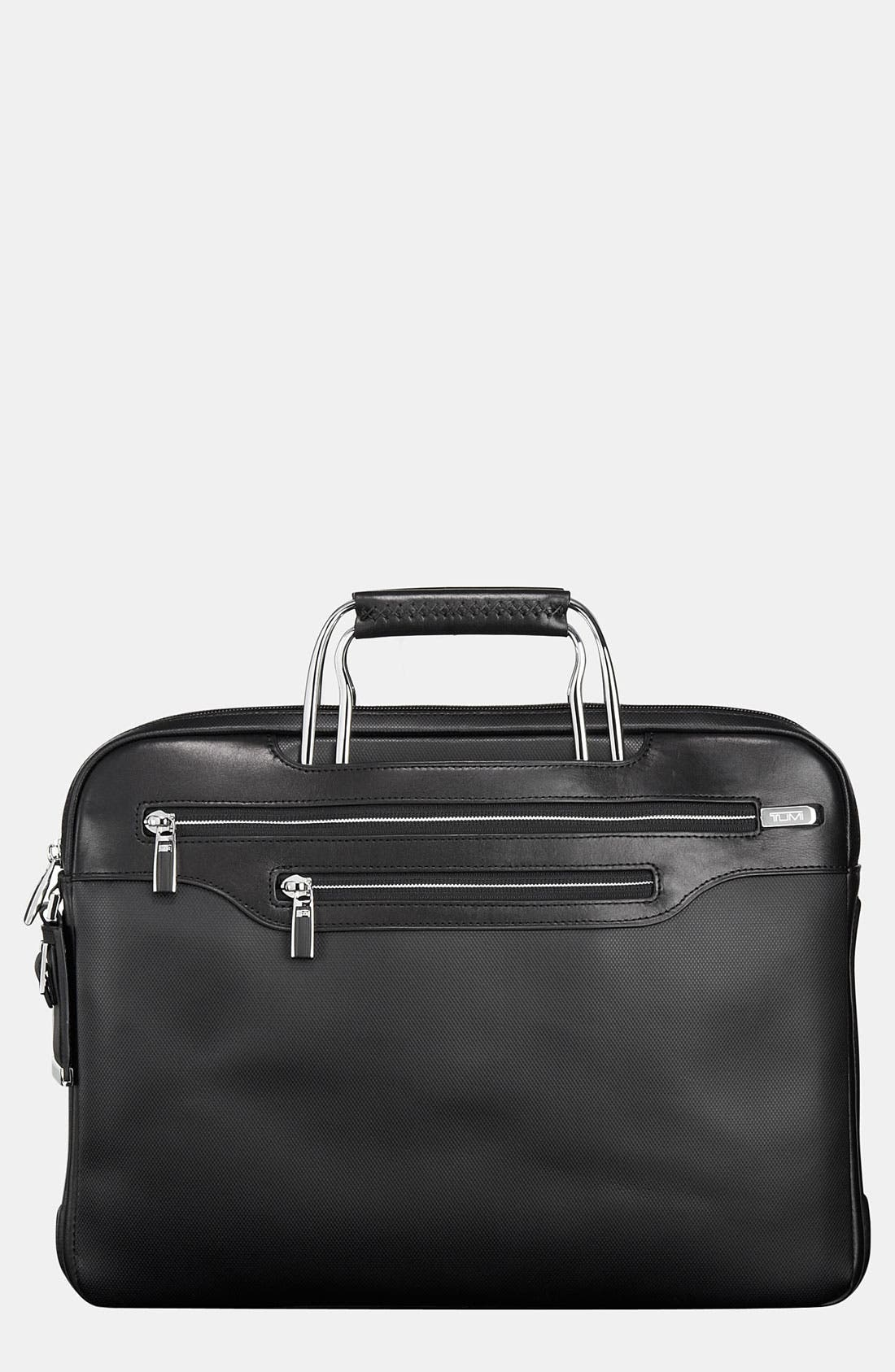 Main Image - Tumi 'Arrive - Tegel' Slim Leather Portfolio