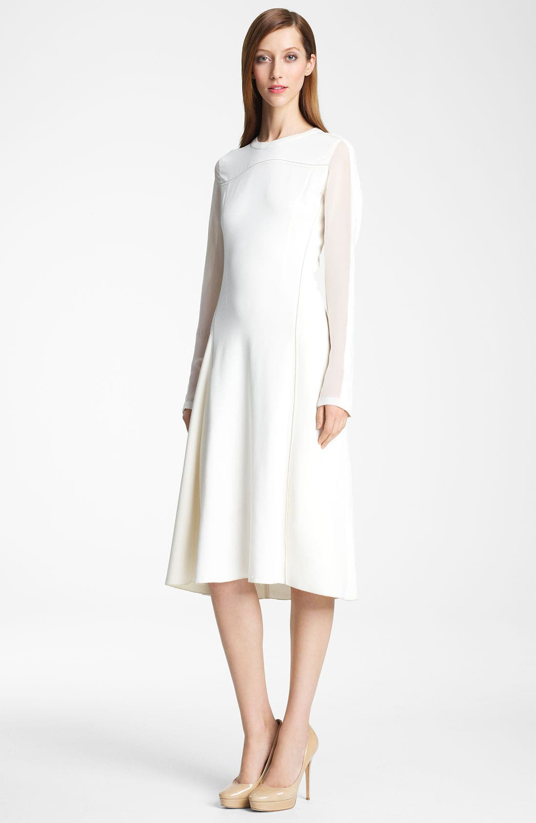 Alternate Image 1 Selected - Reed Krakoff Contrast Stitch Dress