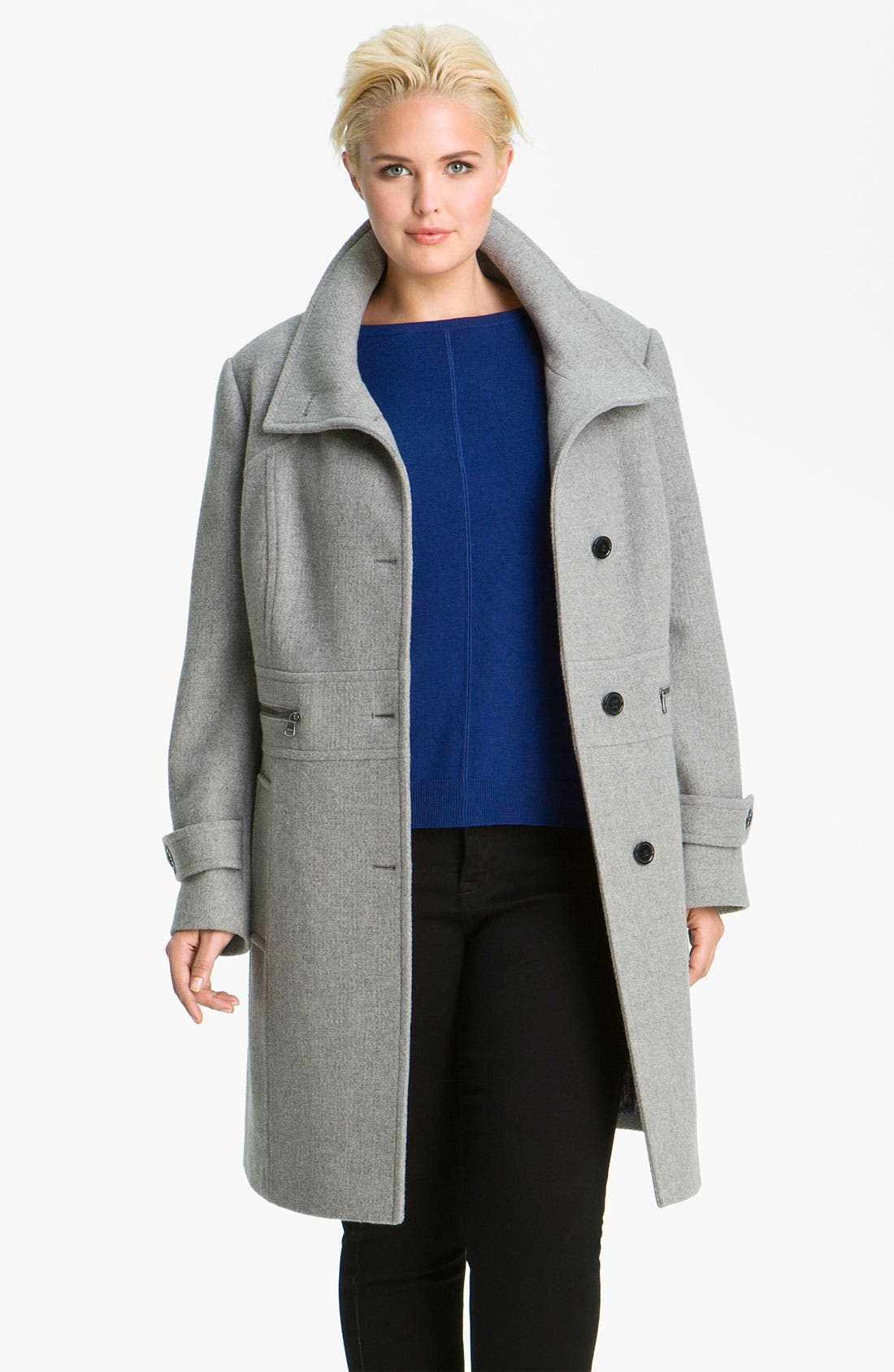Alternate Image 2  - Marc New York by Andrew Marc 'Abby' Walking Coat (Plus)