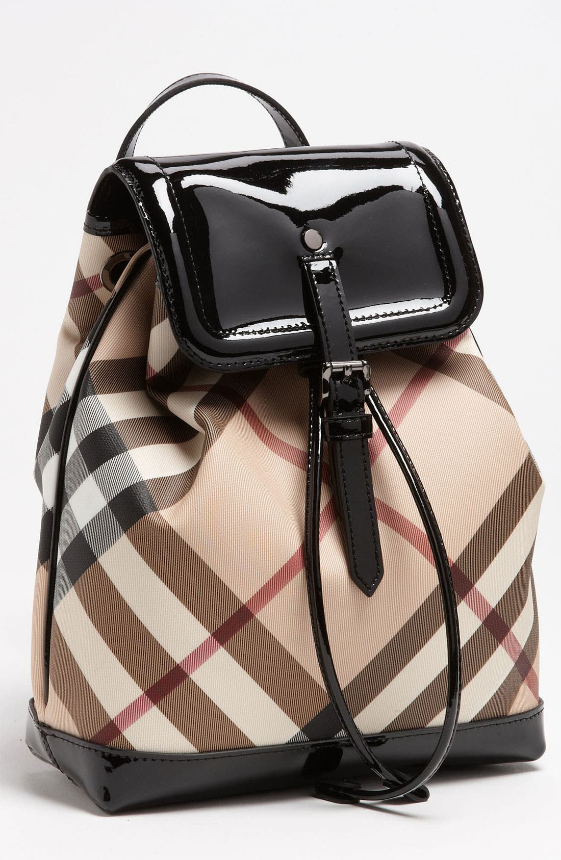 Alternate Image 1 Selected - Burberry 'House Check' Backpack (Girls)