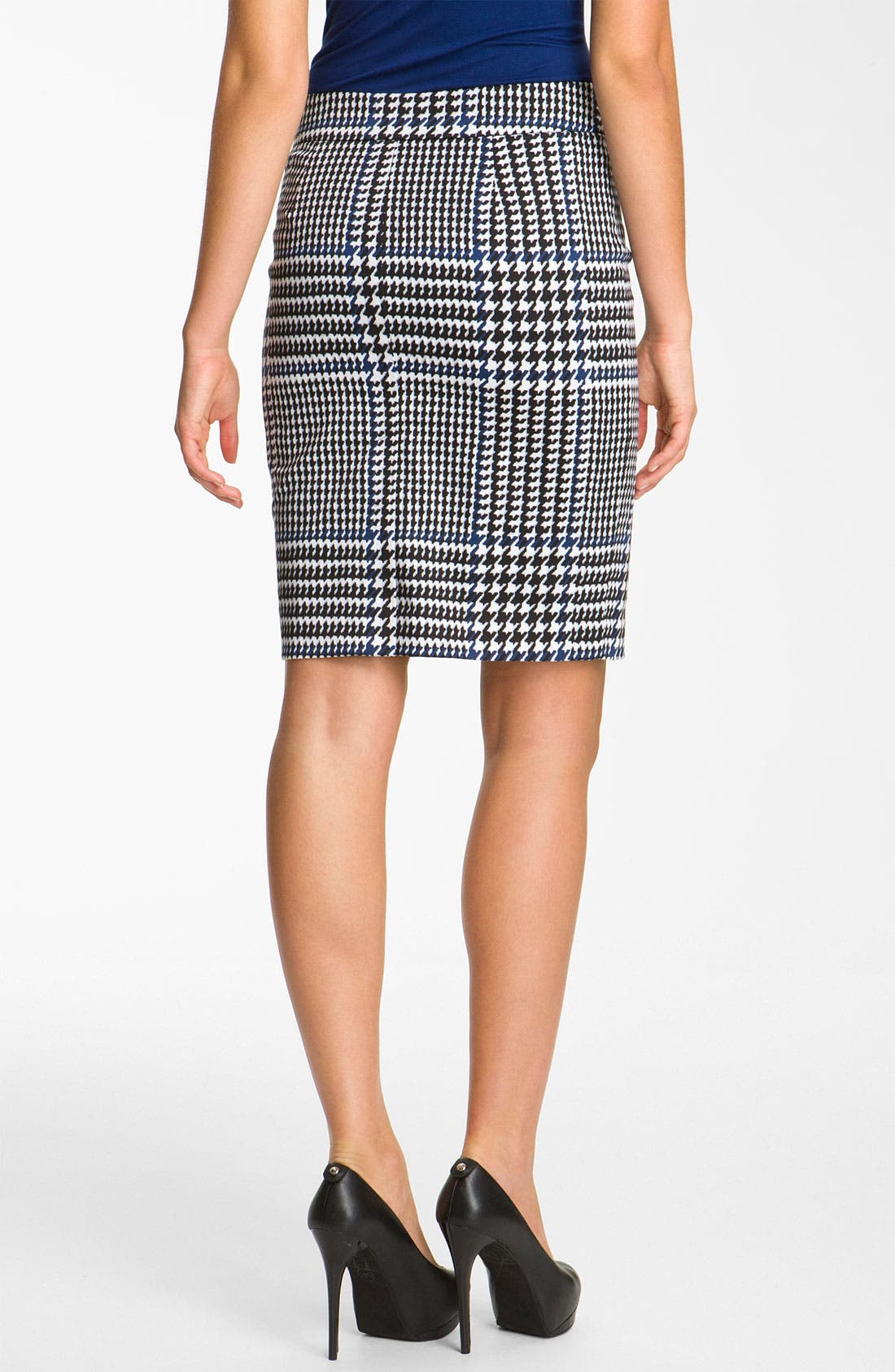 Alternate Image 2  - MICHAEL Michael Kors Plaid Pencil Skirt