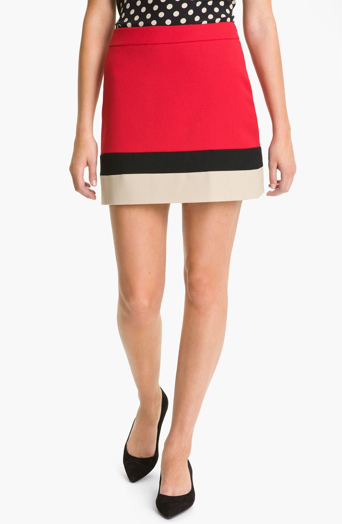 Alternate Image 1 Selected - kate spade new york 'evan' wool skirt (Online Exclusive)
