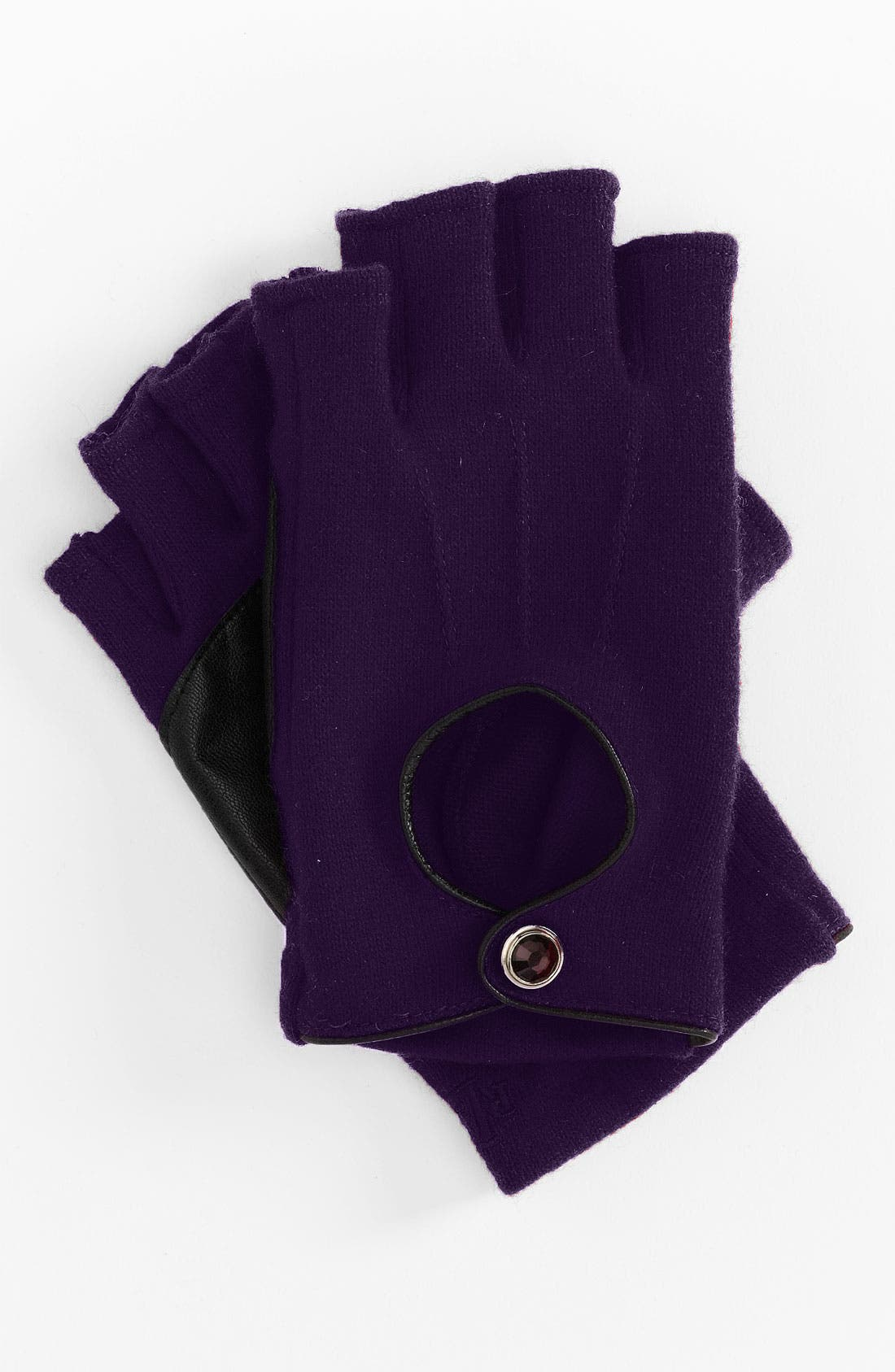 Alternate Image 1 Selected - Lauren Ralph Lauren Fingerless Driving Gloves