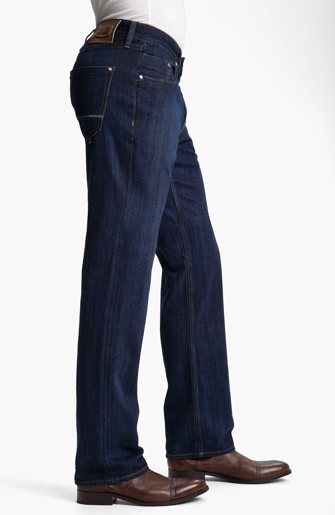Alternate Image 3  - Robert Graham Jeans 'Simply Blue' Straight Leg Jeans (Indigo)
