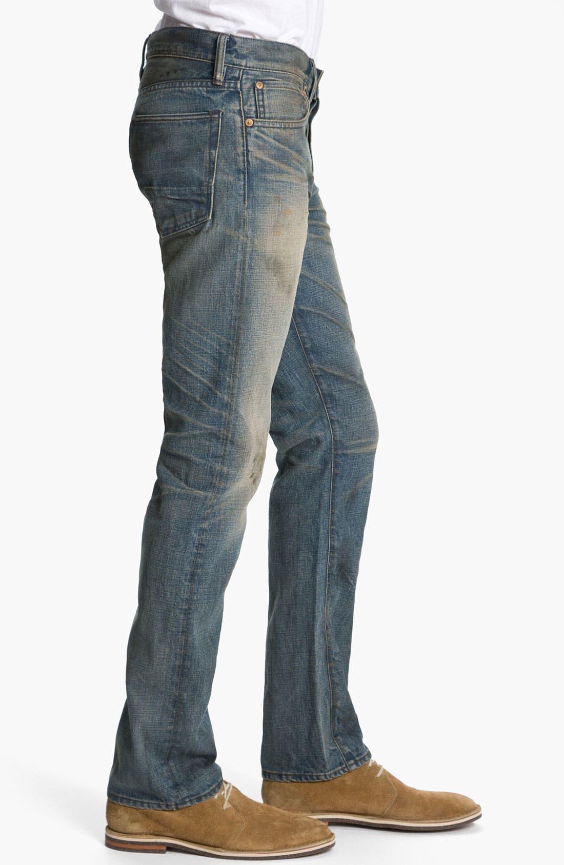 Alternate Image 3  - NSF Clothing Straight Leg Jeans (Wilson)