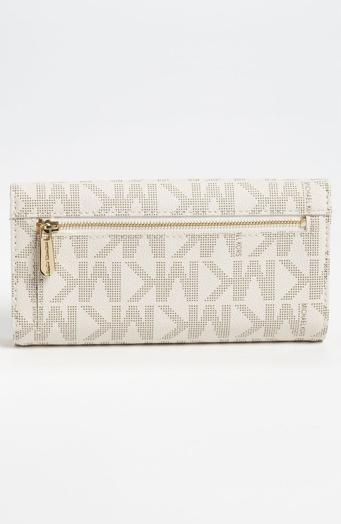 Alternate Image 3  - MICHAEL Michael Kors 'Jet Set - Signature' Checkbook Wallet
