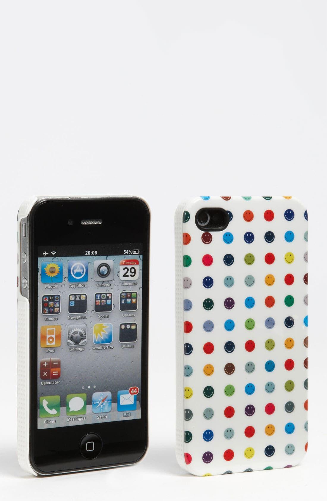Alternate Image 1 Selected - Case Scenario Polka Dot iPhone 4 & 4S Case