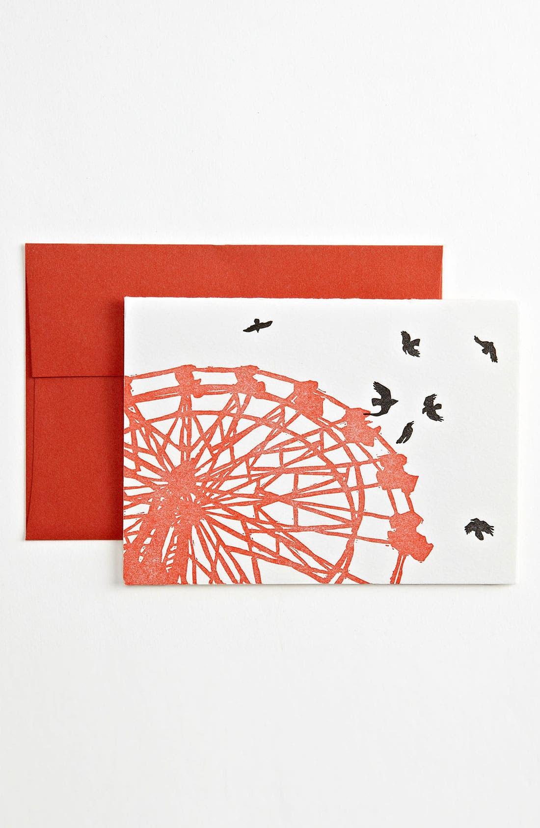 Main Image - Letterpress Note Cards (Set of 6)