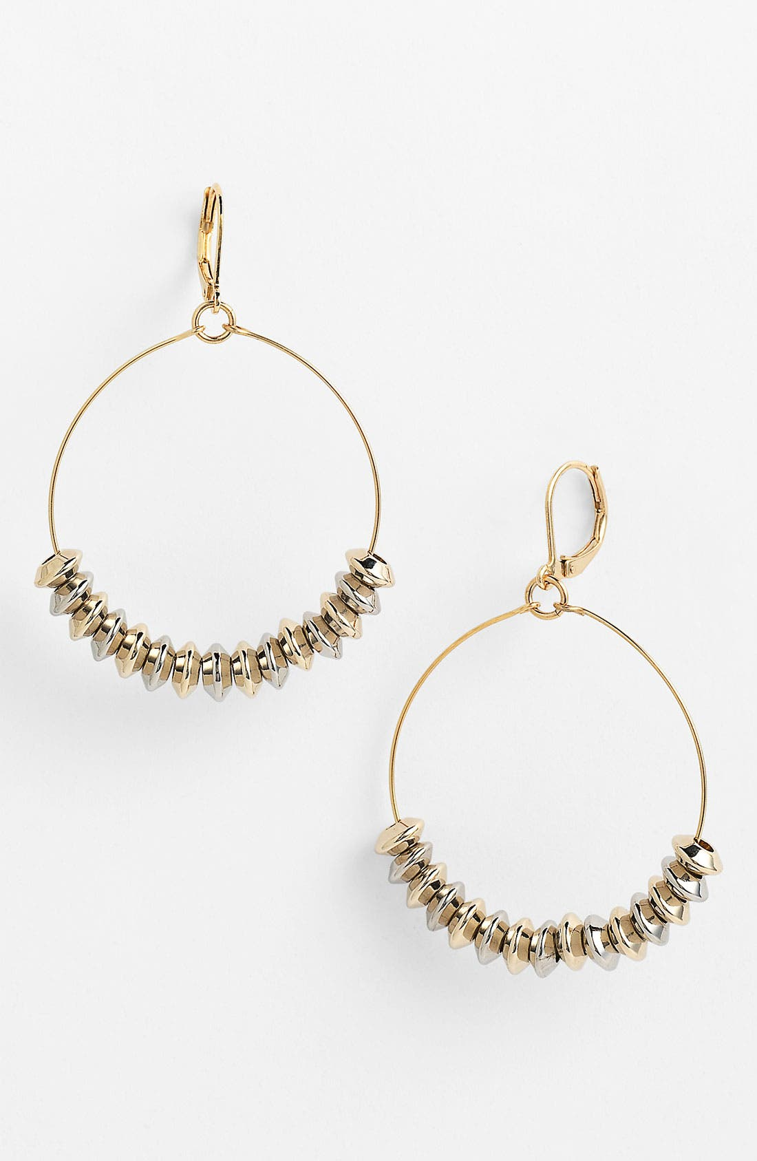 Main Image - Nordstrom 'Wisteria' Frontal Hoop Earrings