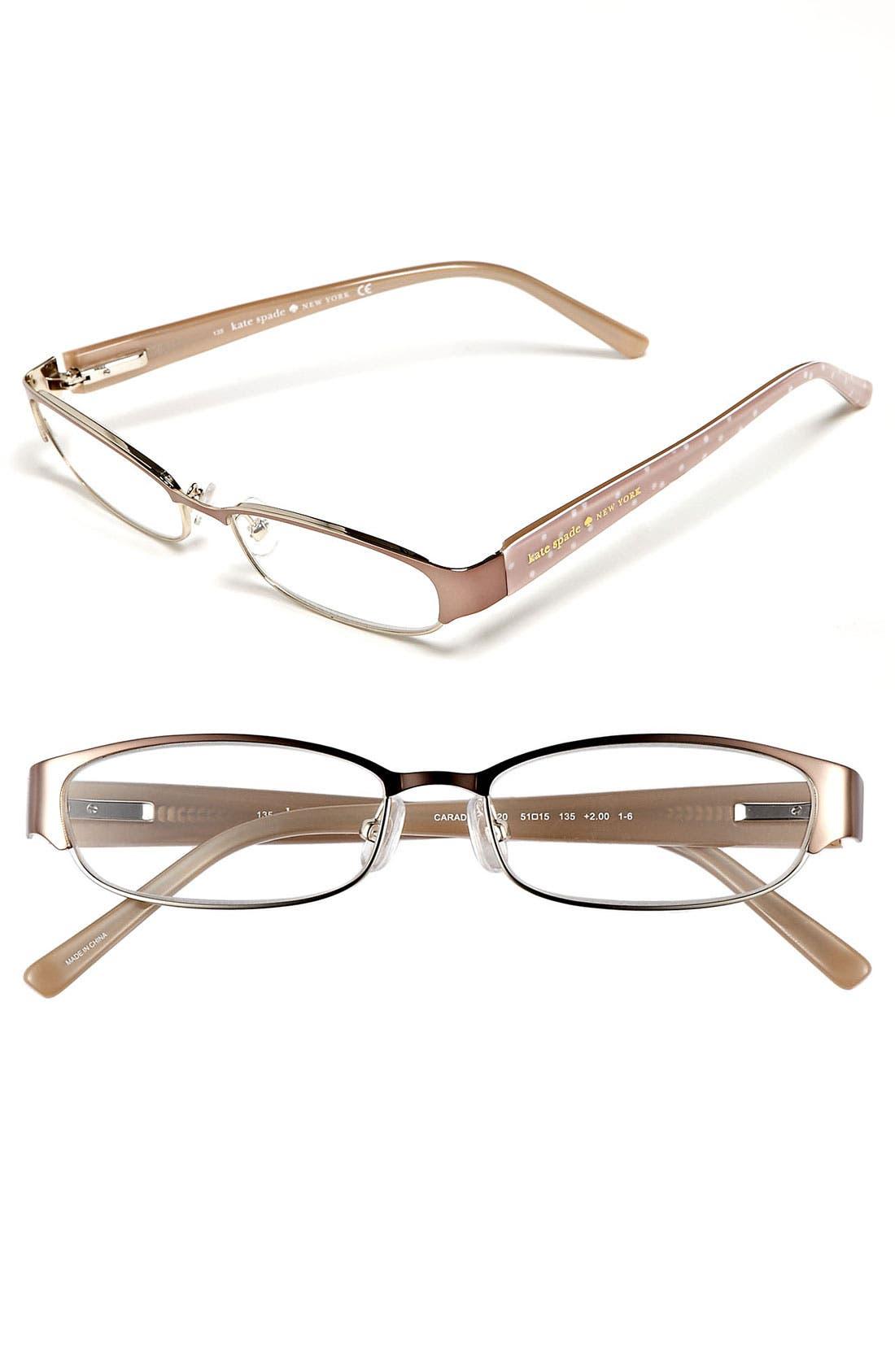 Main Image - kate spade new york 'caradee' reading glasses