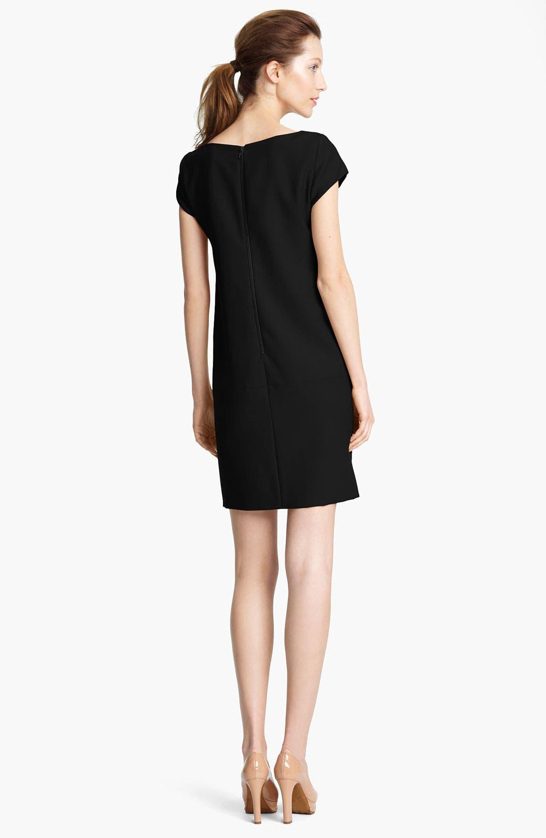 Alternate Image 2  - Moschino Cheap & Chic Cap Sleeve Dress