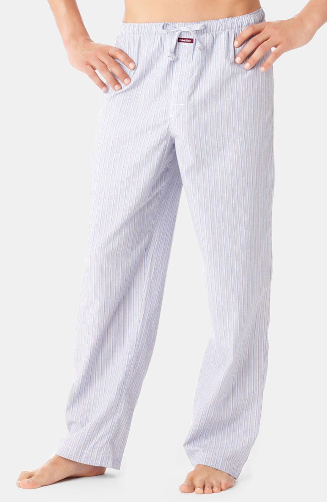 Alternate Image 1 Selected - Calvin Klein Cotton Lounge Pants