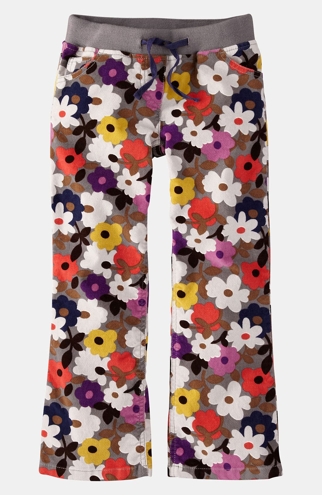 Alternate Image 1 Selected - Mini Boden Ribbed Waist Pants (Toddler, Little Girls & Big Girls)