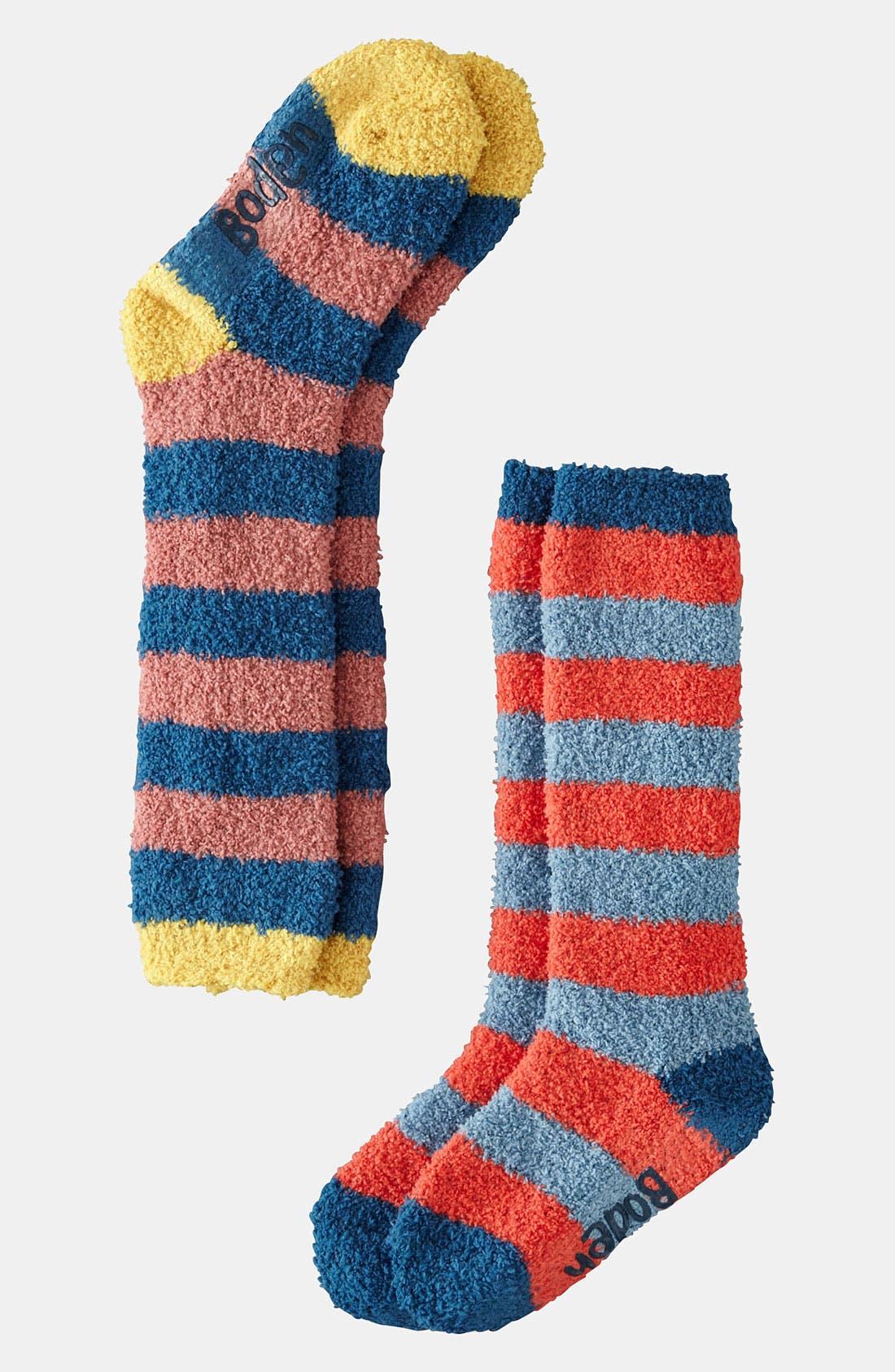 Alternate Image 1 Selected - Mini Boden 'Winter Cozy' Socks (2-Pack) (Girls)