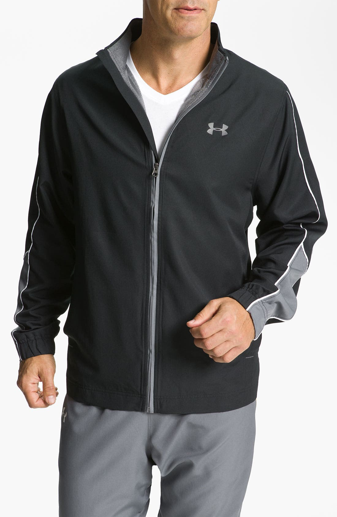Main Image - Under Armour 'Bandito' Loose Fit Woven Jacket
