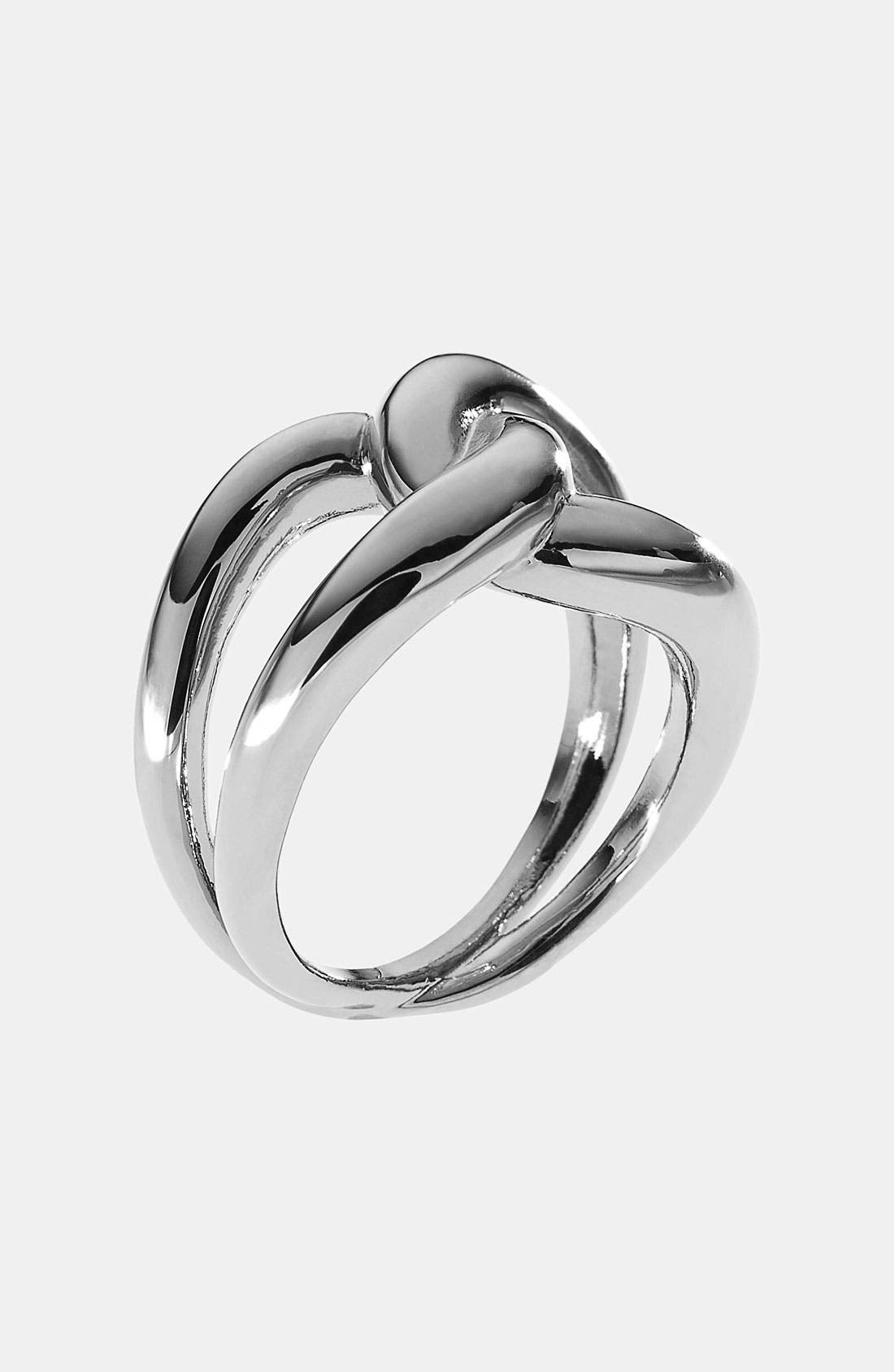 Alternate Image 1 Selected - Michael Kors 'Equestrian Luxury' Knot Ring