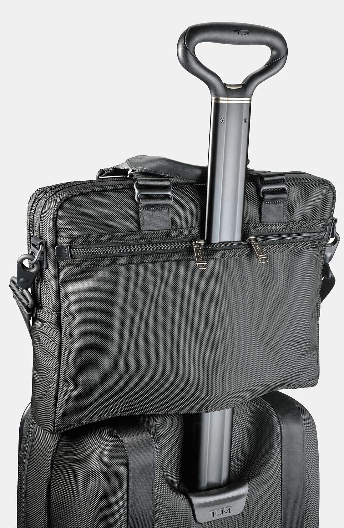 Alternate Image 5  - Tumi 'Alpha Bravo - Yuma' Slim Leather Briefcase
