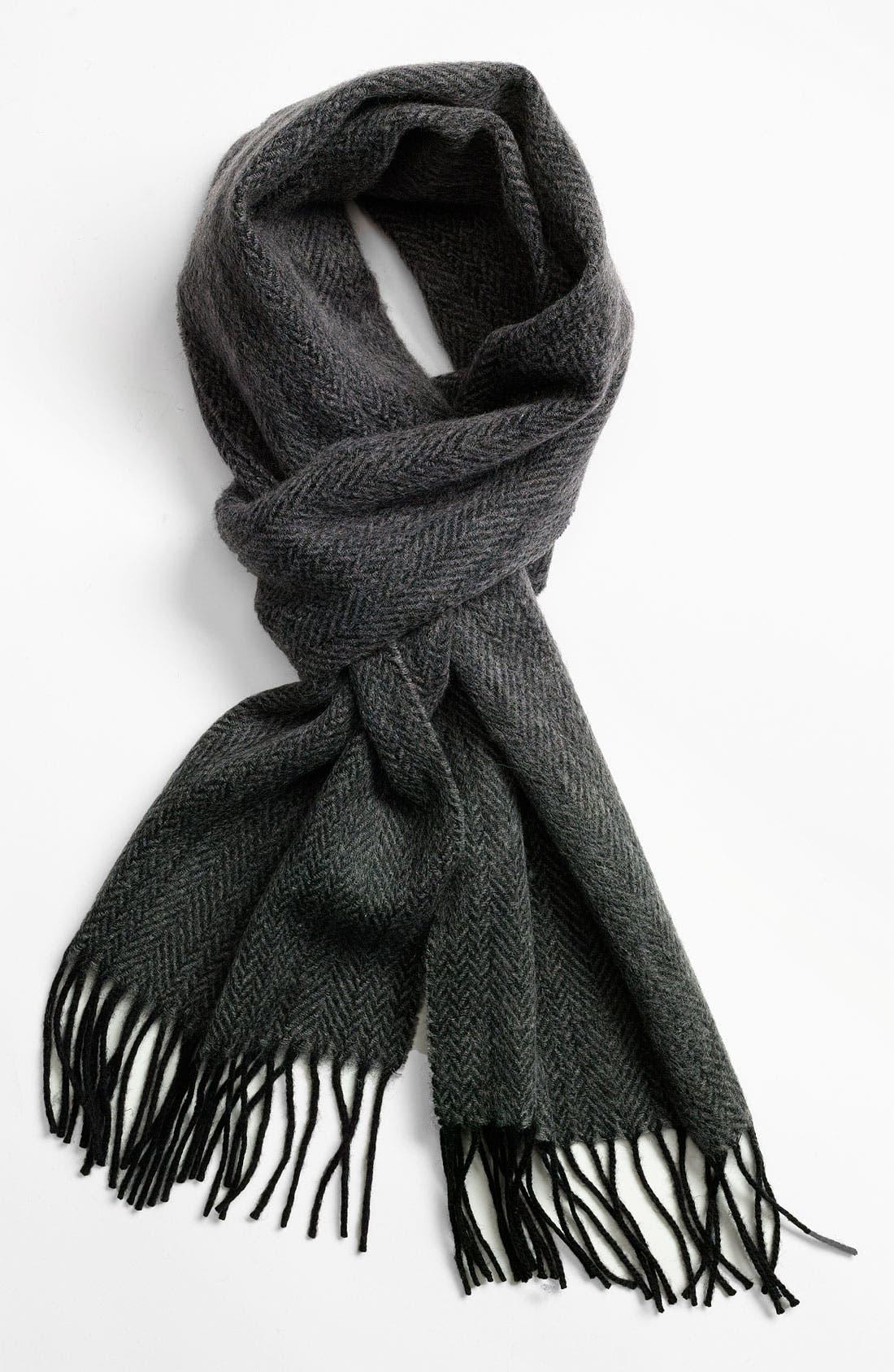 Main Image - Nordstrom Men's Shop Wool Scarf