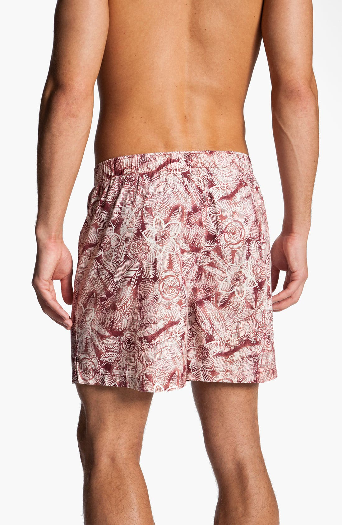 Alternate Image 2  - Tommy Bahama Print Cotton Boxers (Assorted 2-Pack)