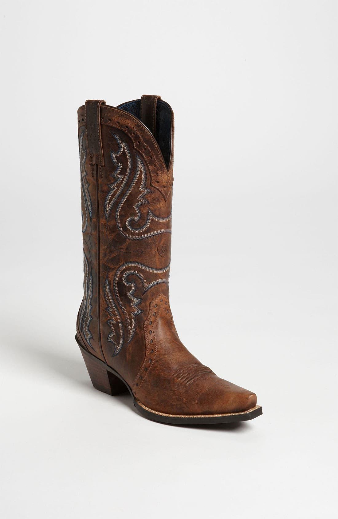 Alternate Image 1 Selected - Ariat 'Western Heritage X Toe' Boot
