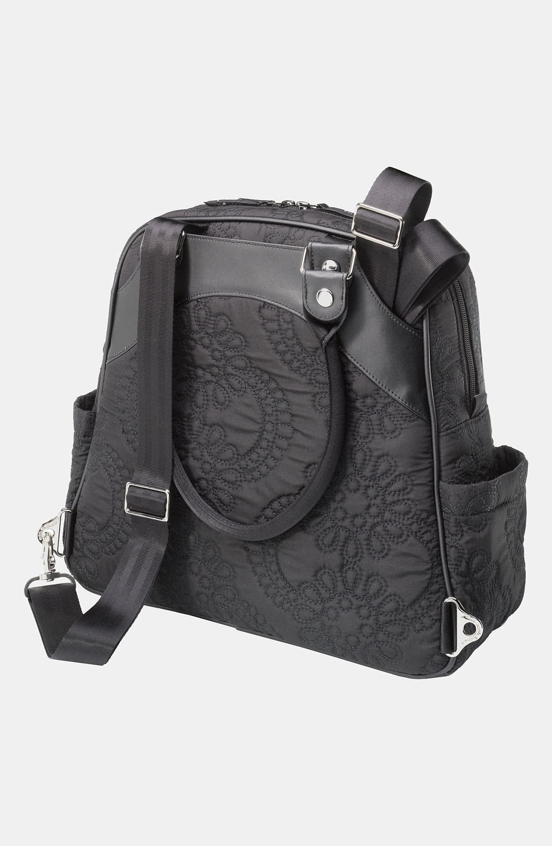 Alternate Image 2  - Petunia Pickle Bottom Embossed Diaper Bag