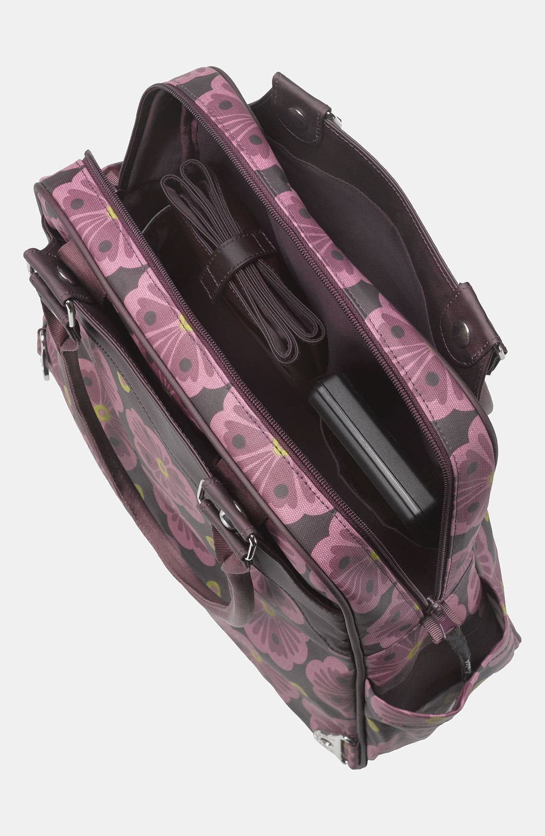 Alternate Image 3  - Petunia Pickle Bottom 'Glazed Sashay' Convertible Diaper Bag/Satchel